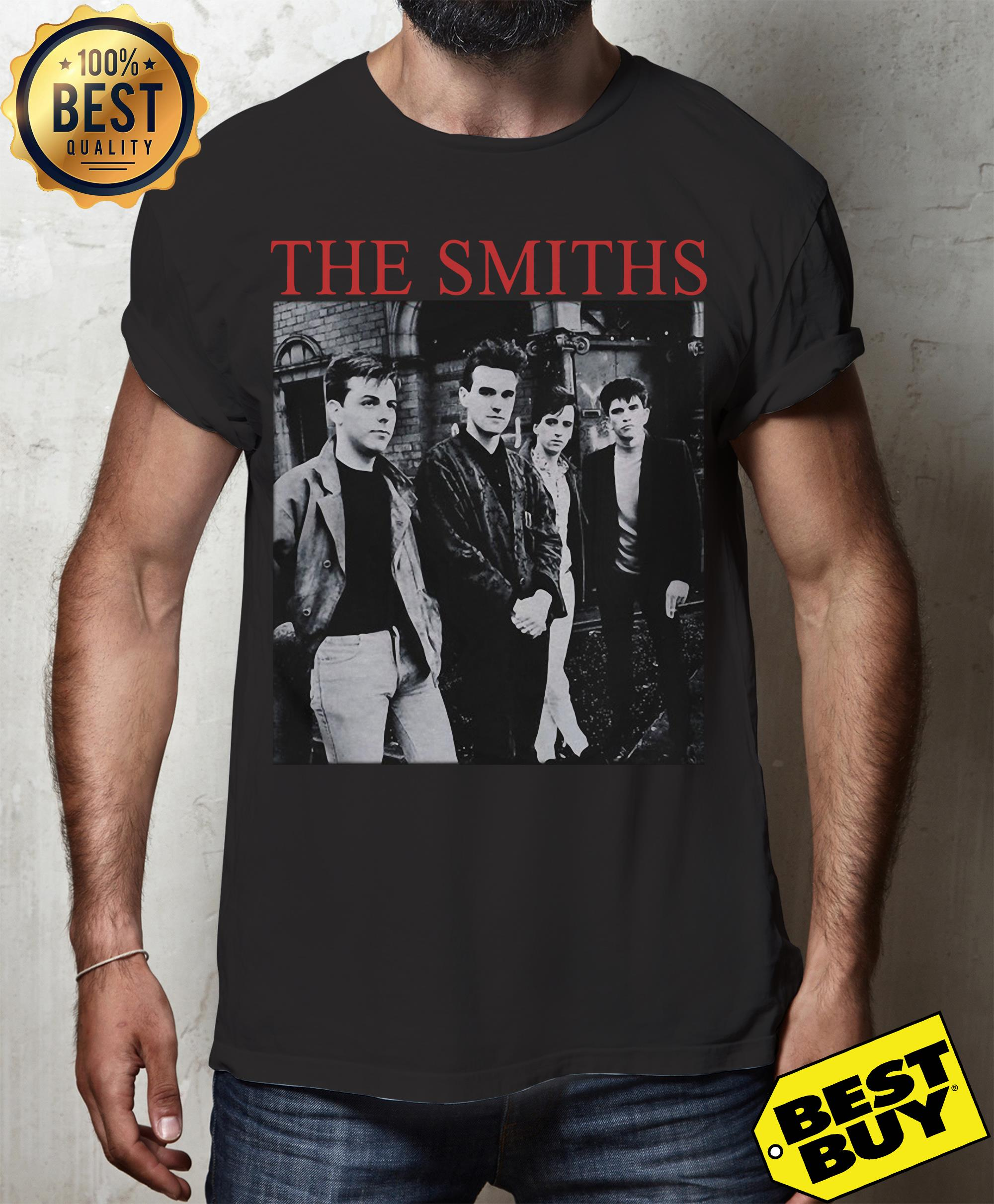 "The Smiths ""The Queen Is Dead"" funny v-neck"