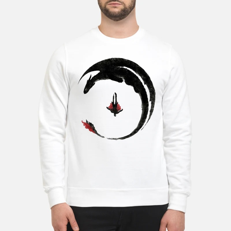 Toothless Dragon Tattoo Viking Dragon Hiccup How to Train Your Dragon sweatshirt