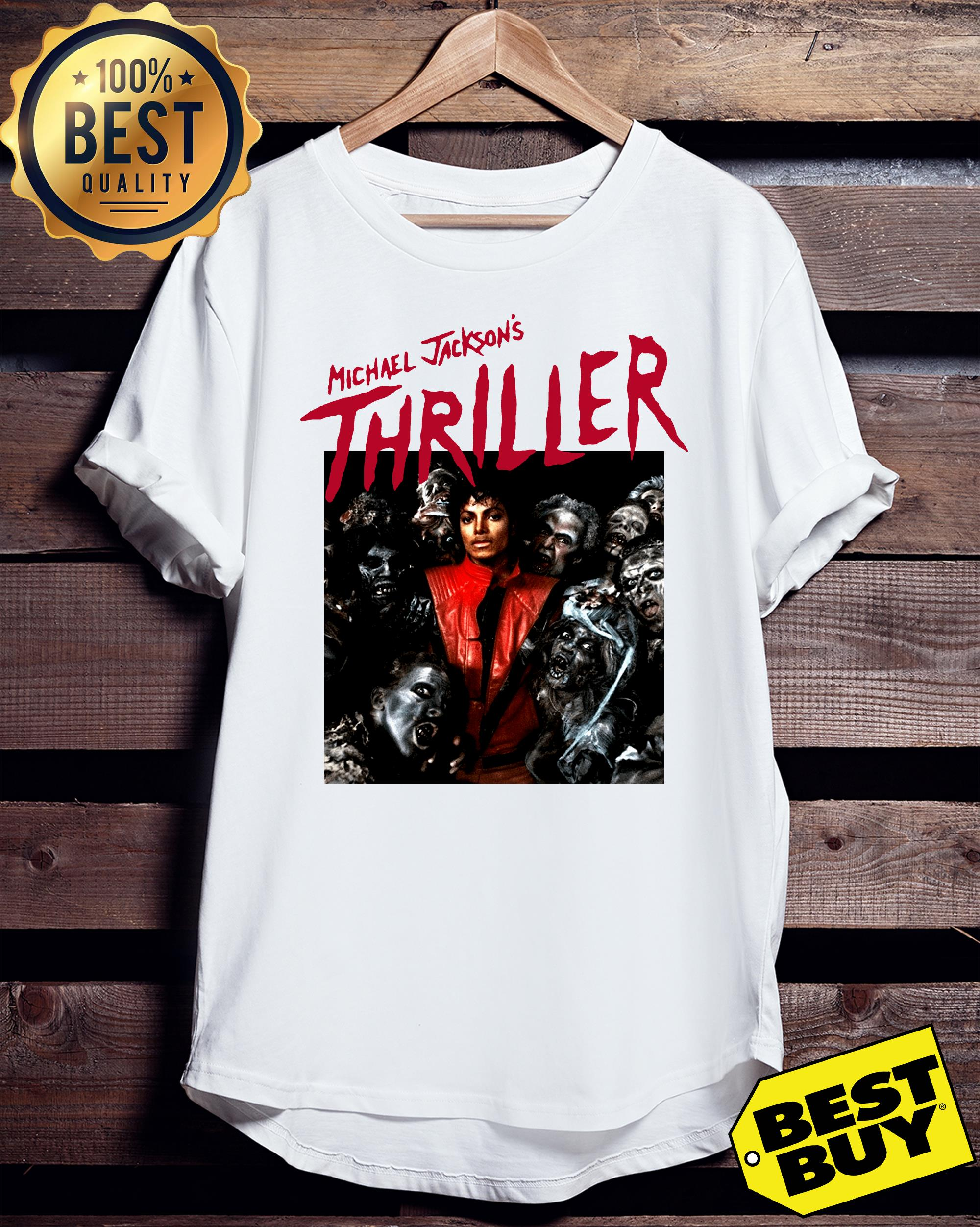 US Adelaide Michael Jackson's Thriller ladies tee