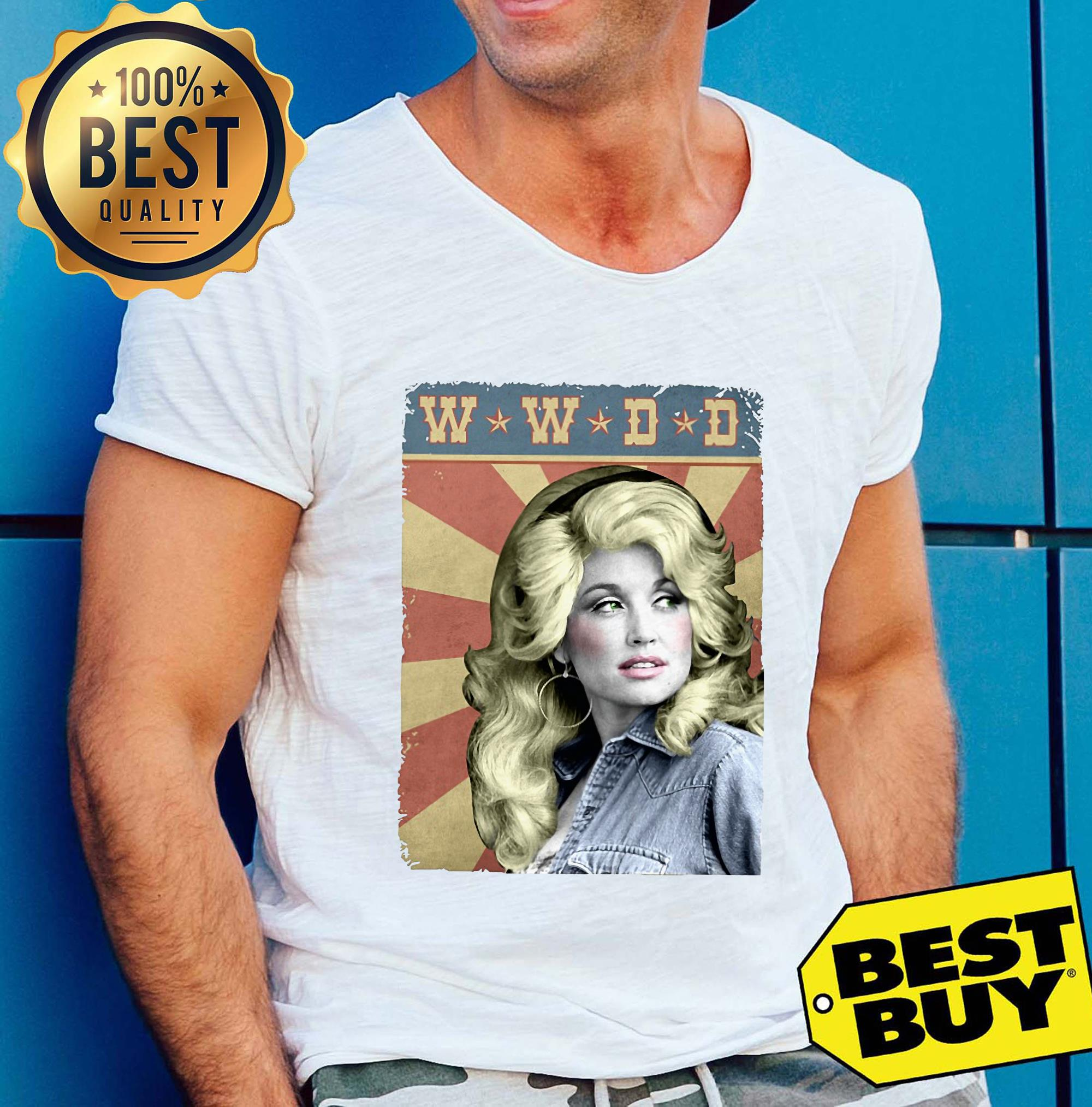 WWDD What Would Dolly Do? tank top
