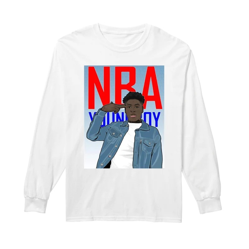 YoungBoy Never Broke Again NBA G200 long sleeve