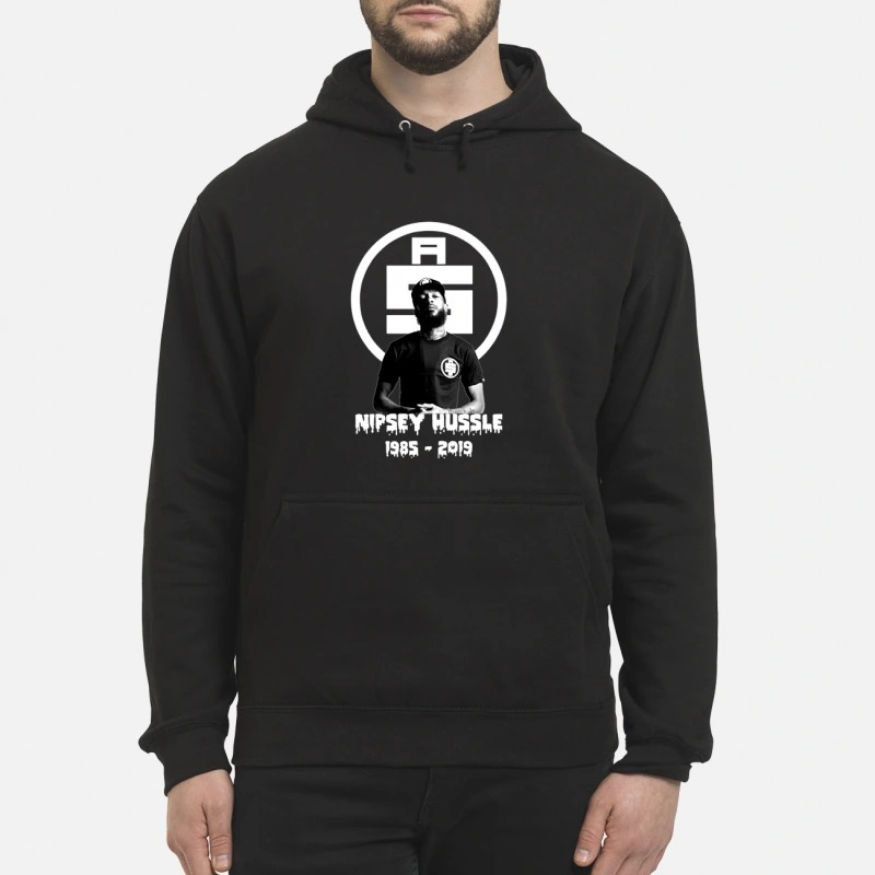 All money in Rip NIPSEY HUSSLE 1985-2019 hoodie