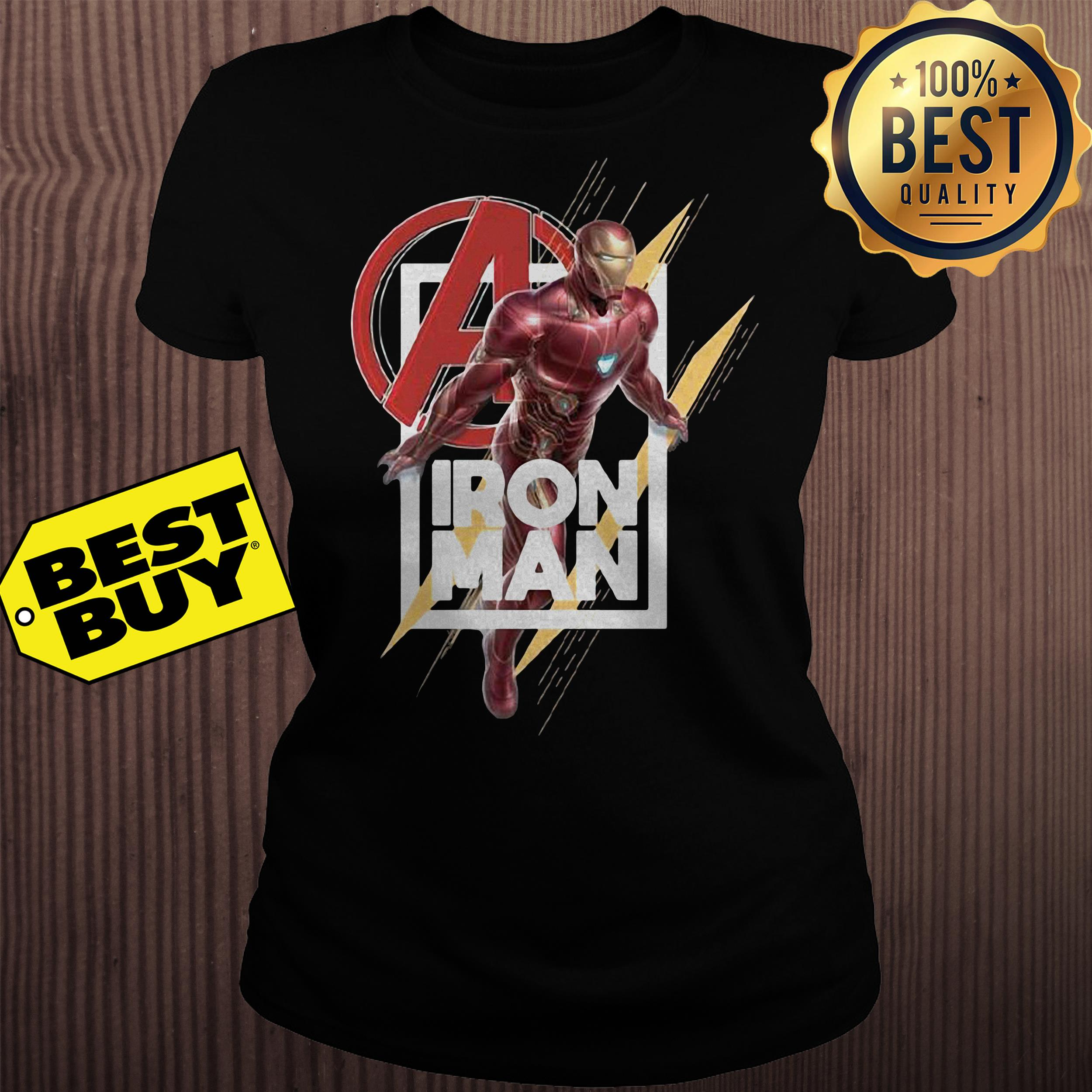 Avenger Iron man Endgame ladies tee