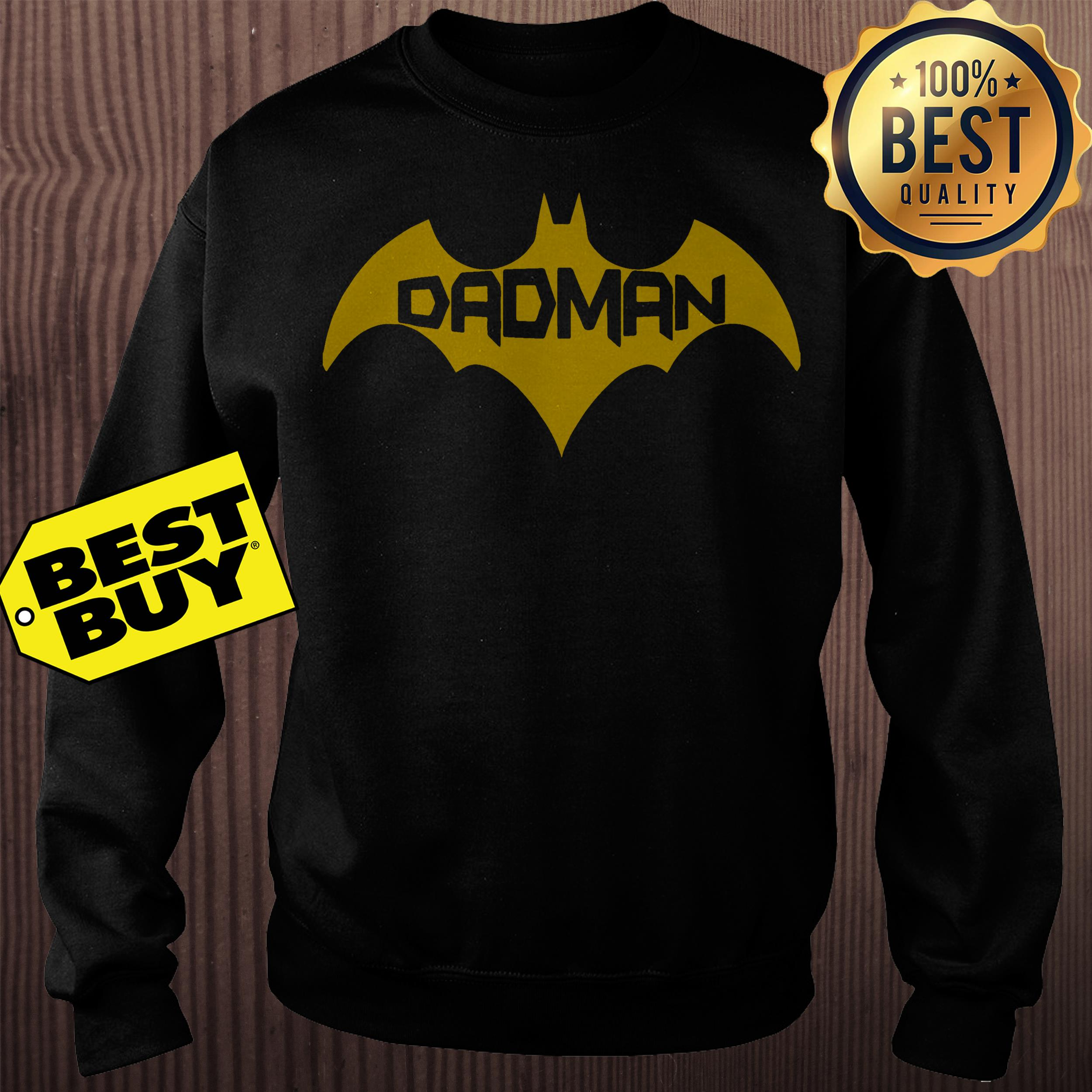 Batman day superhero sweatshirt