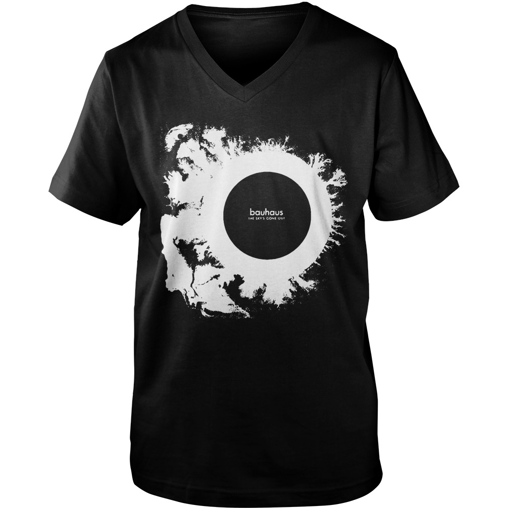 Bauhaus The Sky's Gone Out v-neck