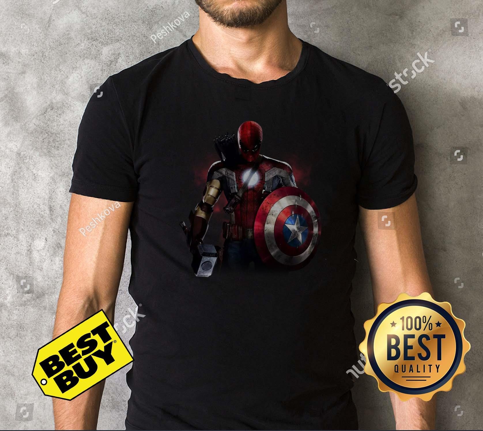 Civil War And You Cant Pick A Team Mix Of All Avengers Shirt