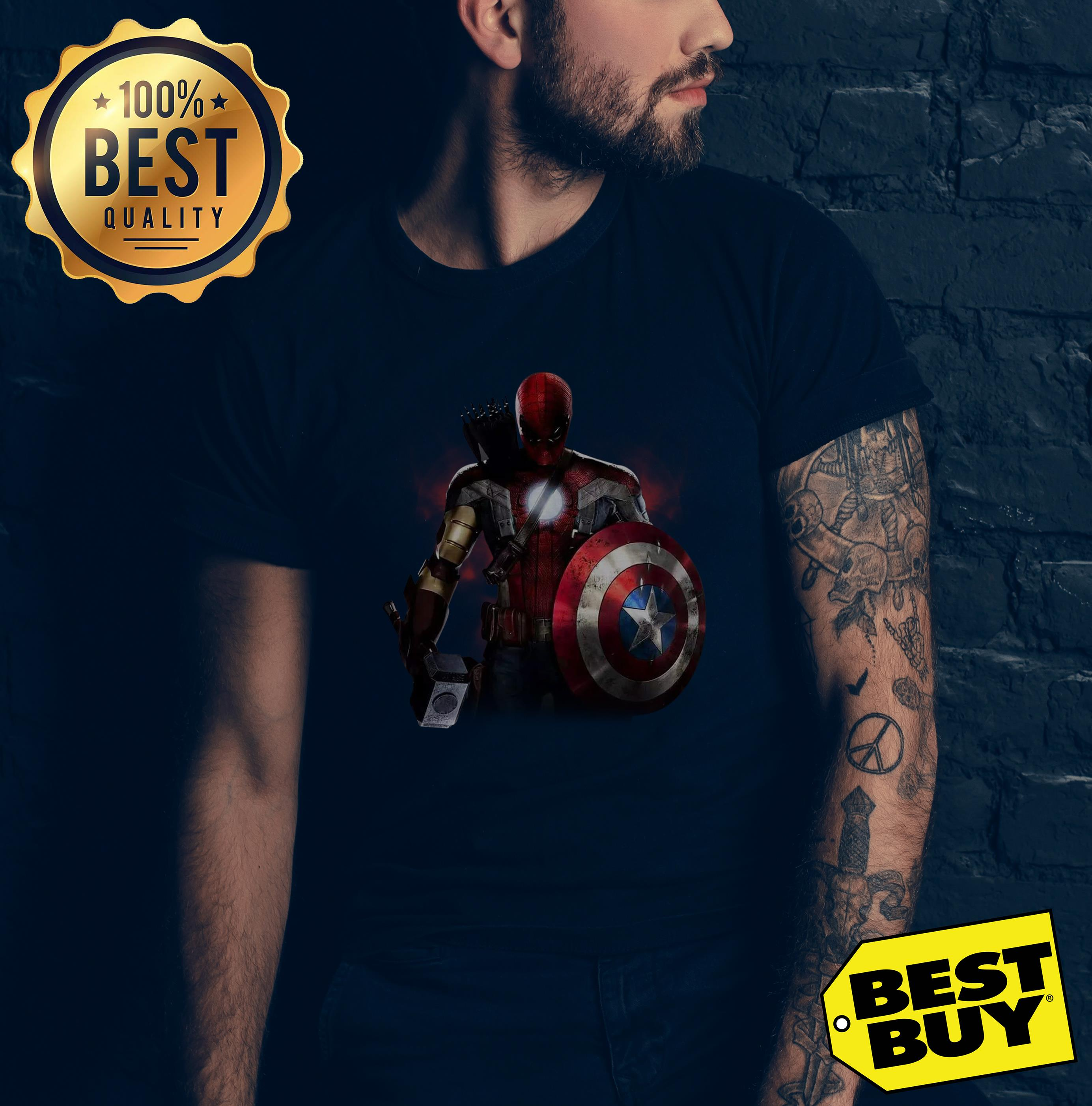 Civil War And You Cant Pick A Team Mix Of All Avengers v-neck