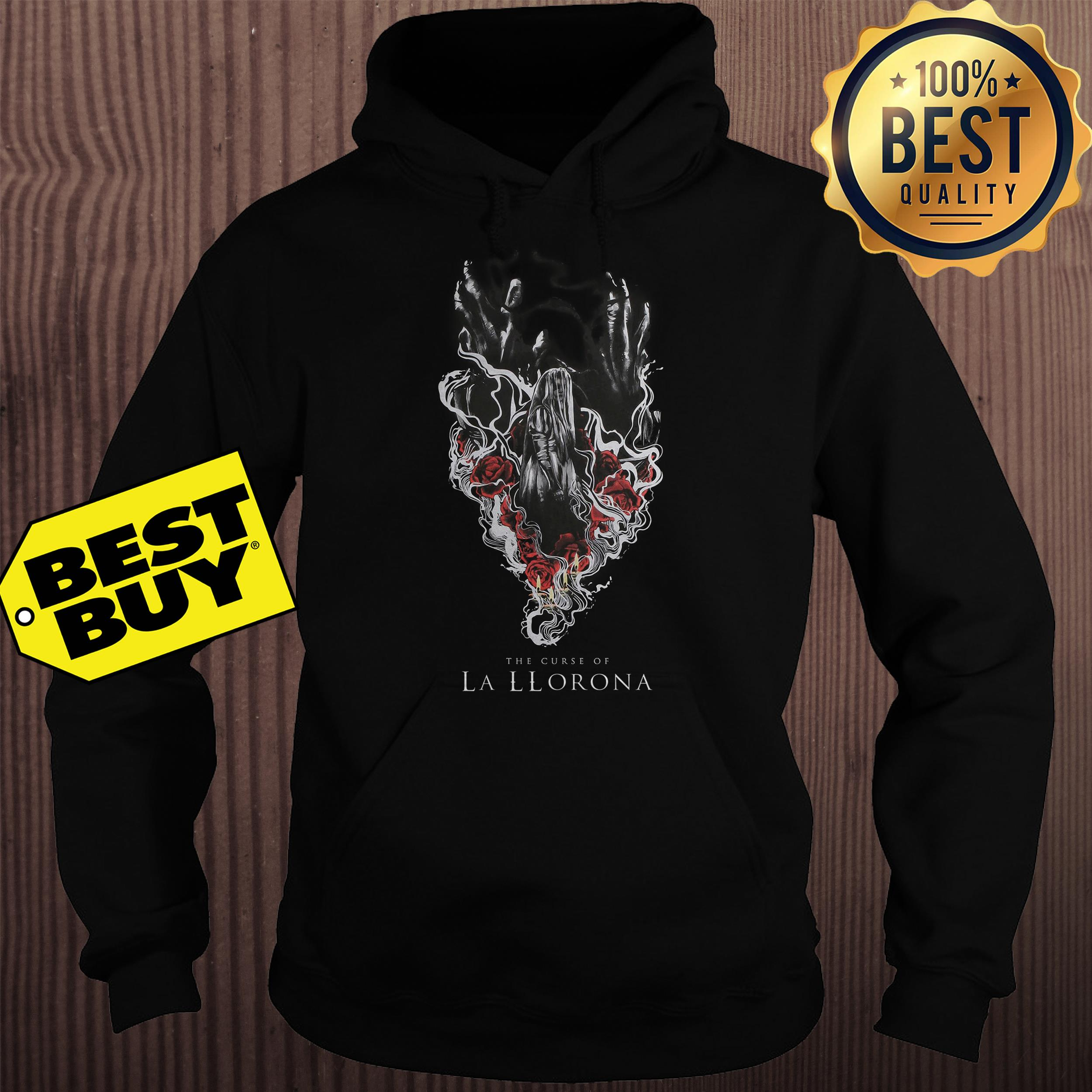 THE CURSE OF LA LLORONA WEEPING WOMAN hoodie