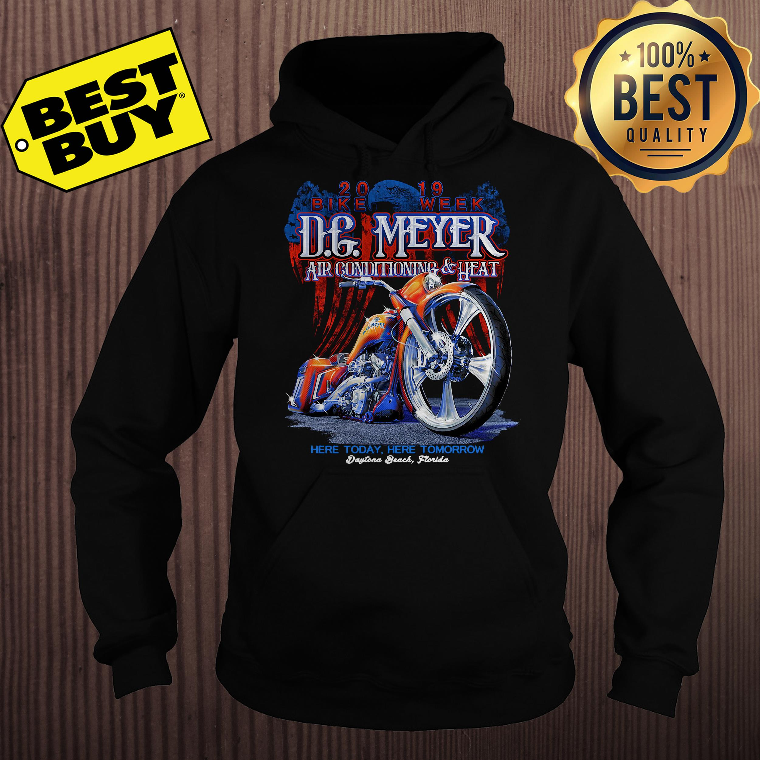 DG Meyer Air conditioning heat here today here tomorrow hoodie
