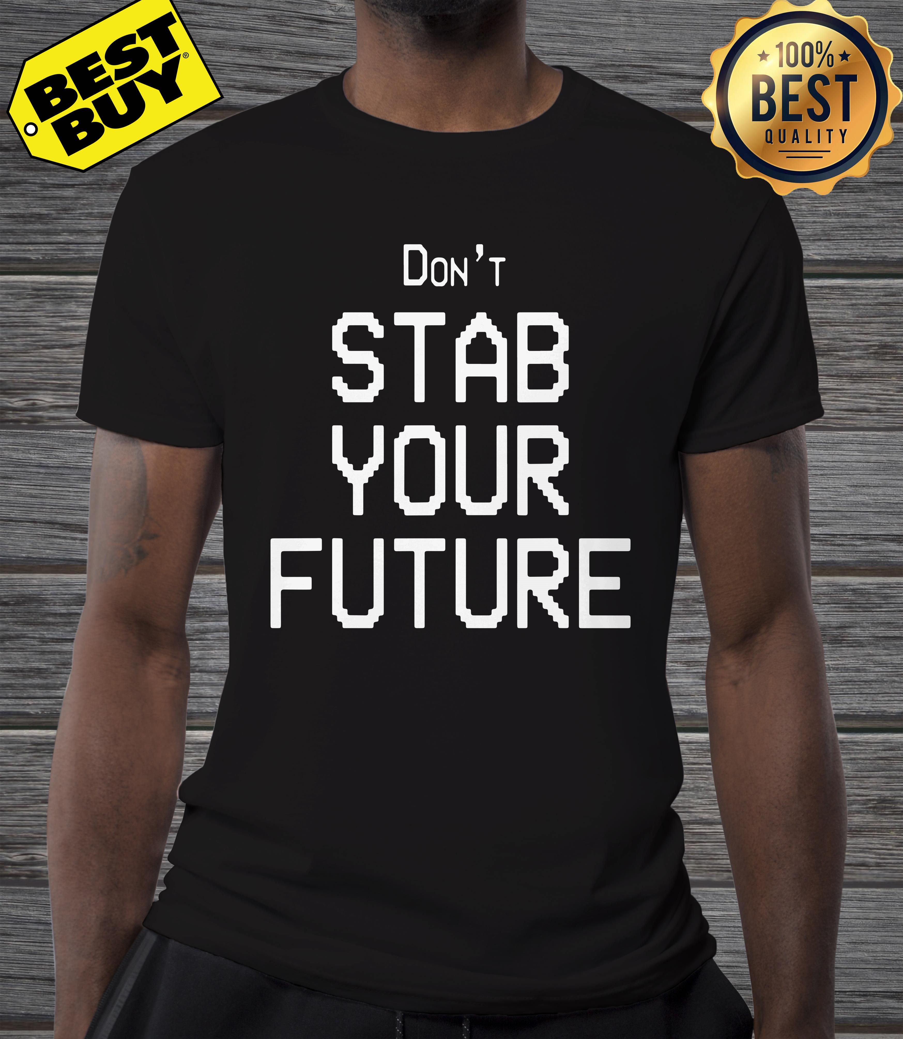 Don't stab you future v-neck
