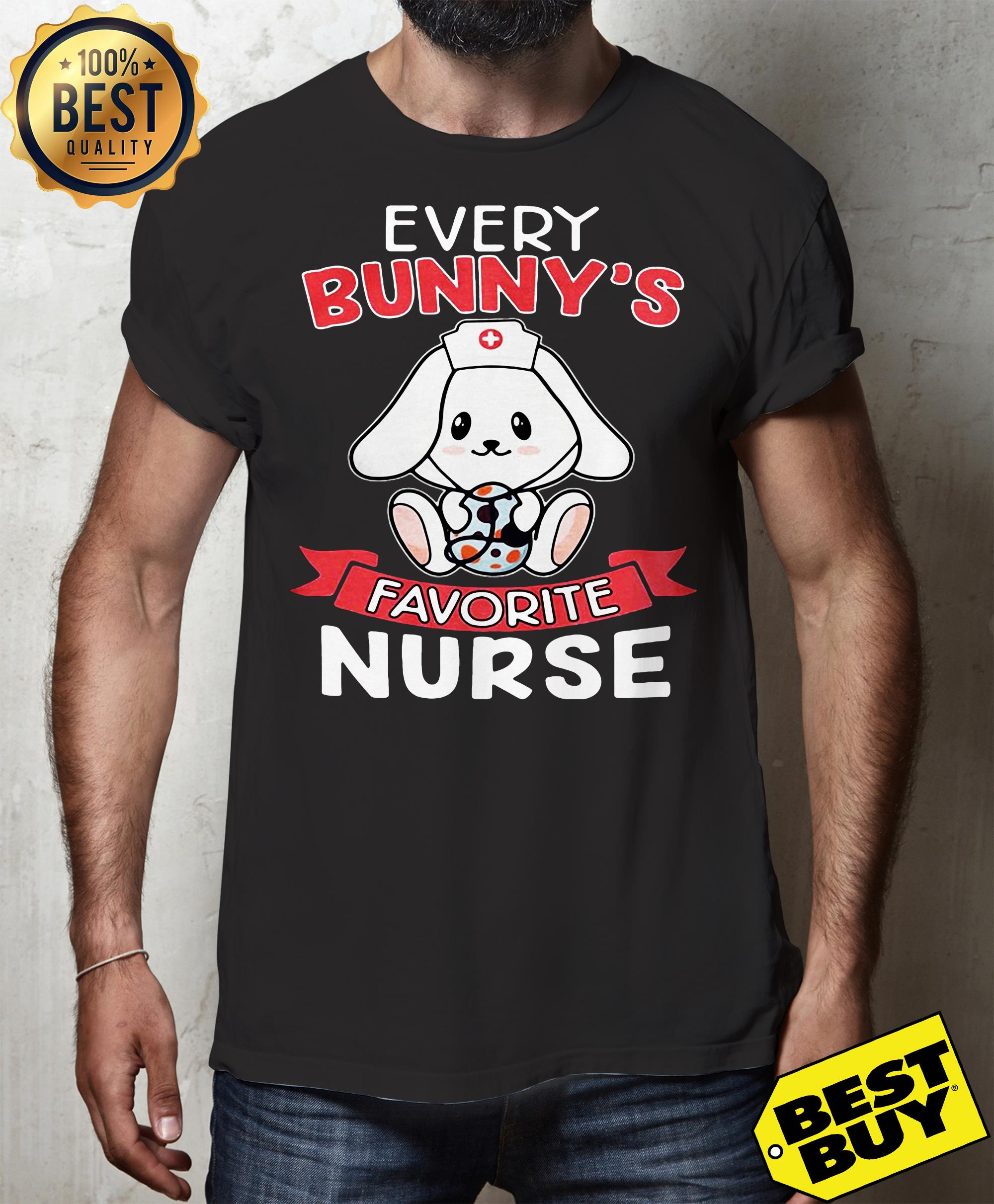 Every Bunny's Favorite Nurse Easter tank top