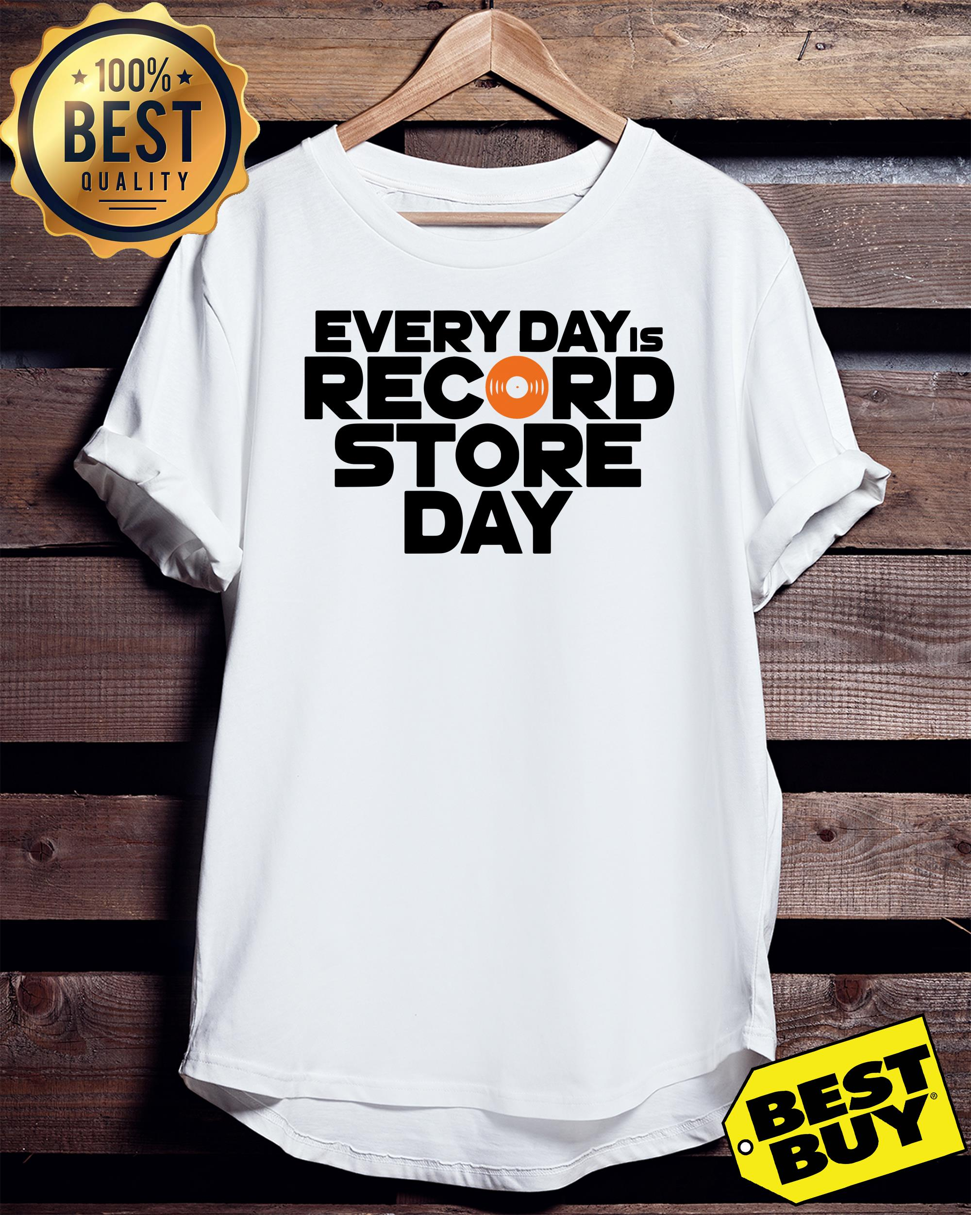 Every Day is Record Store Day ladies tee