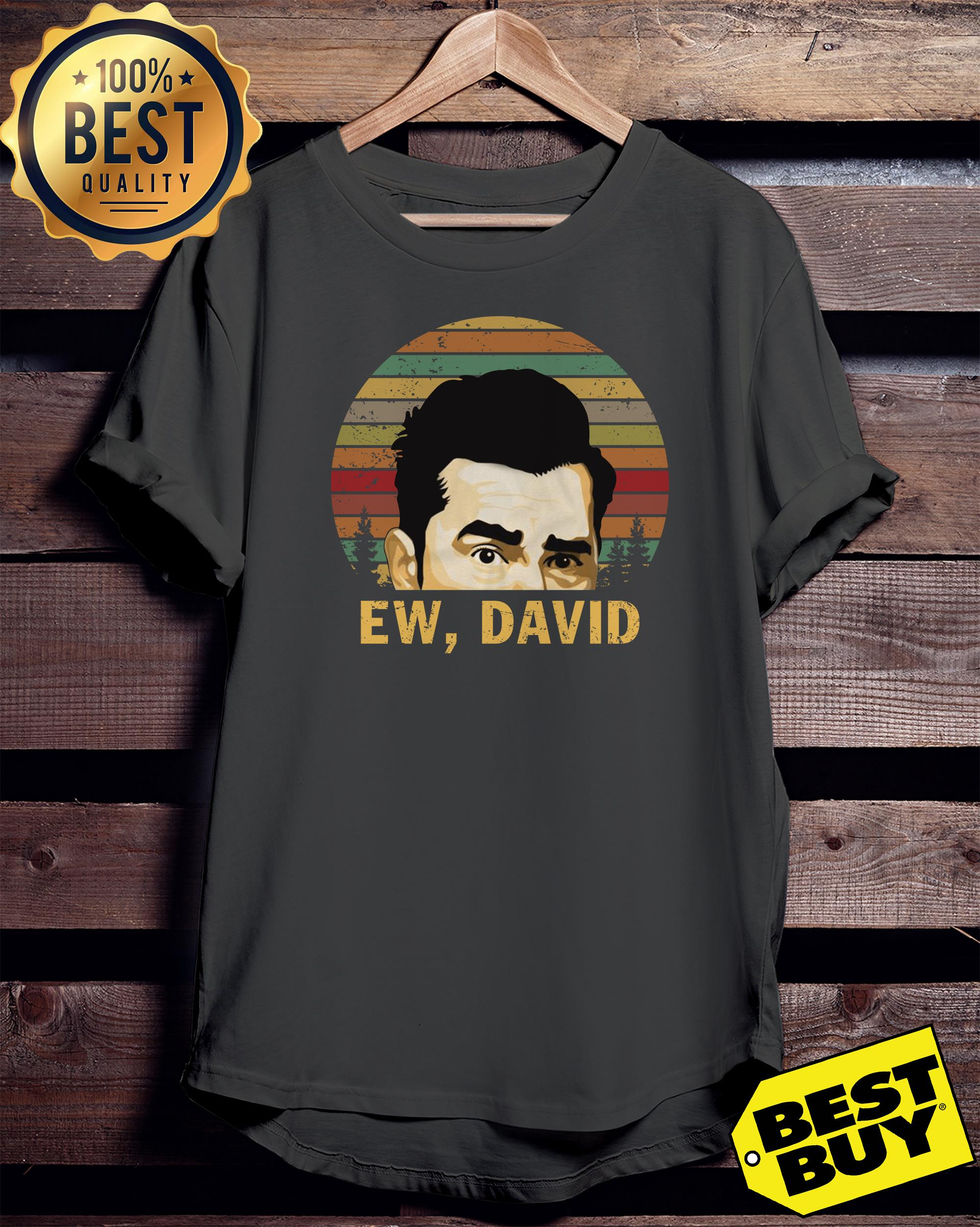 Ew David Schitt's Creek Rose vintage ladies tee