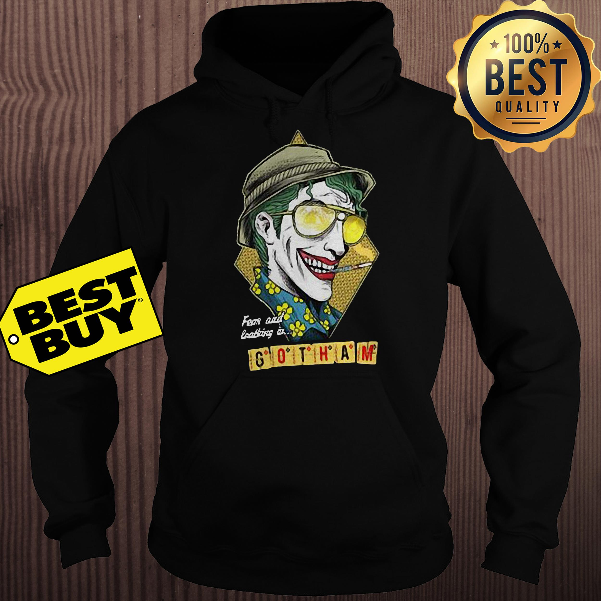 Fear and loathing at Gotham hoodie