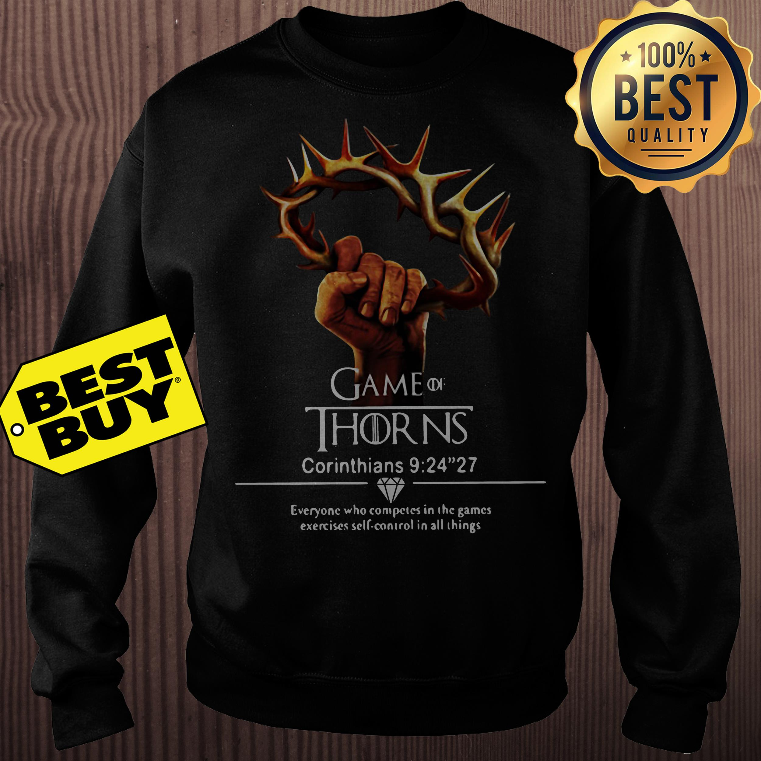 Game of thrones Corinthians 9:24''27 sweatshirt