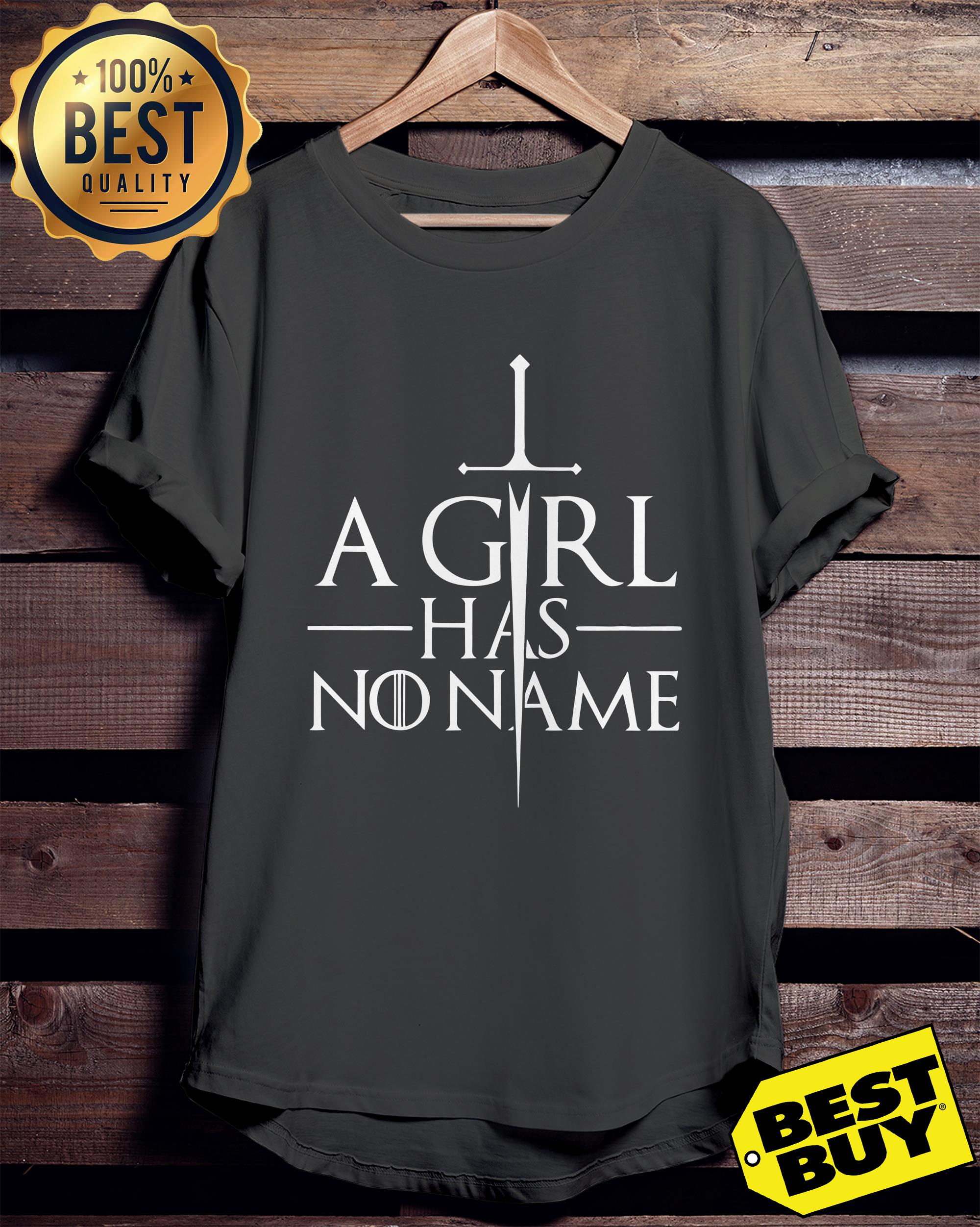 A girl has no name Game of Thrones hoodie