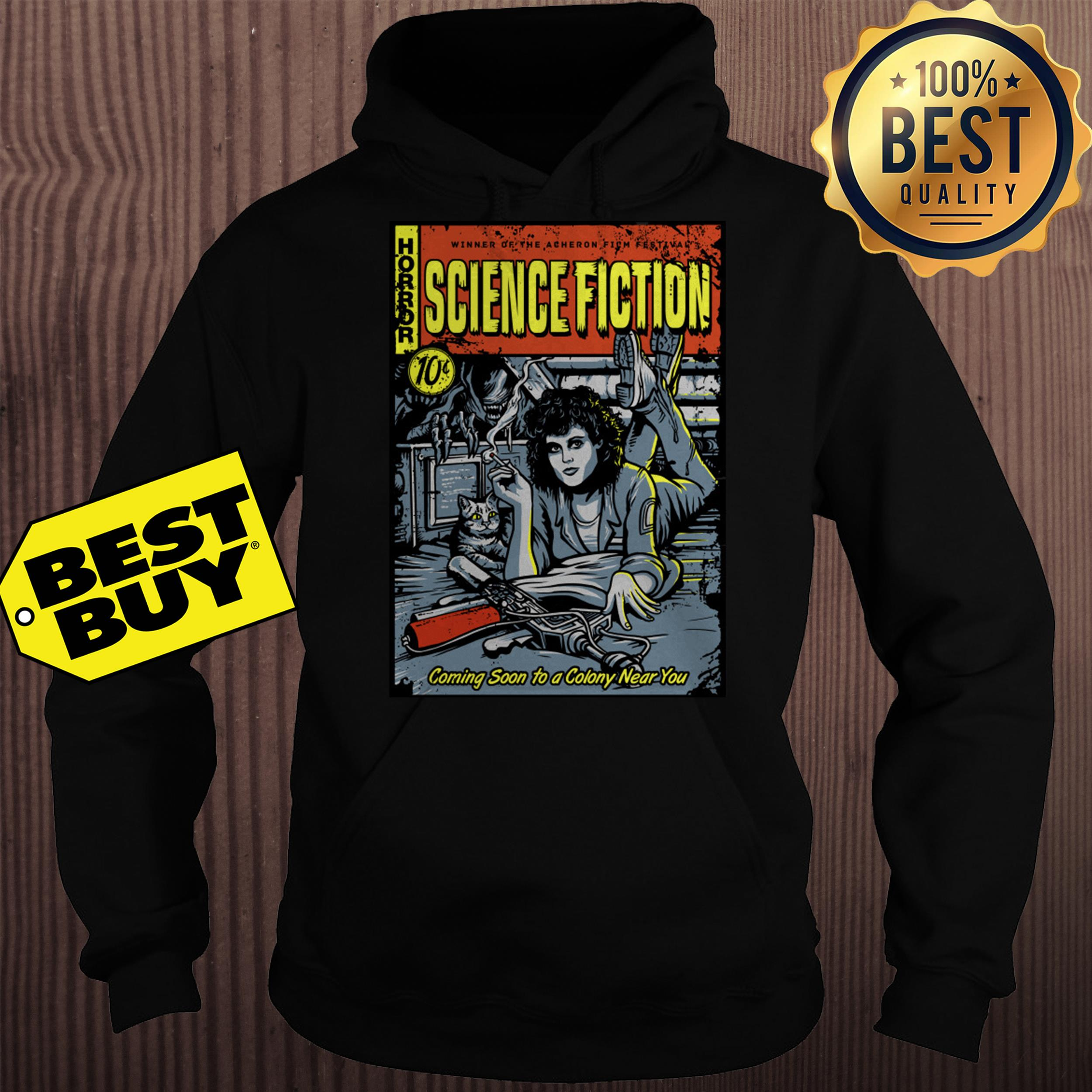 Horror winner of the Acheron science fiction 10c hoodie