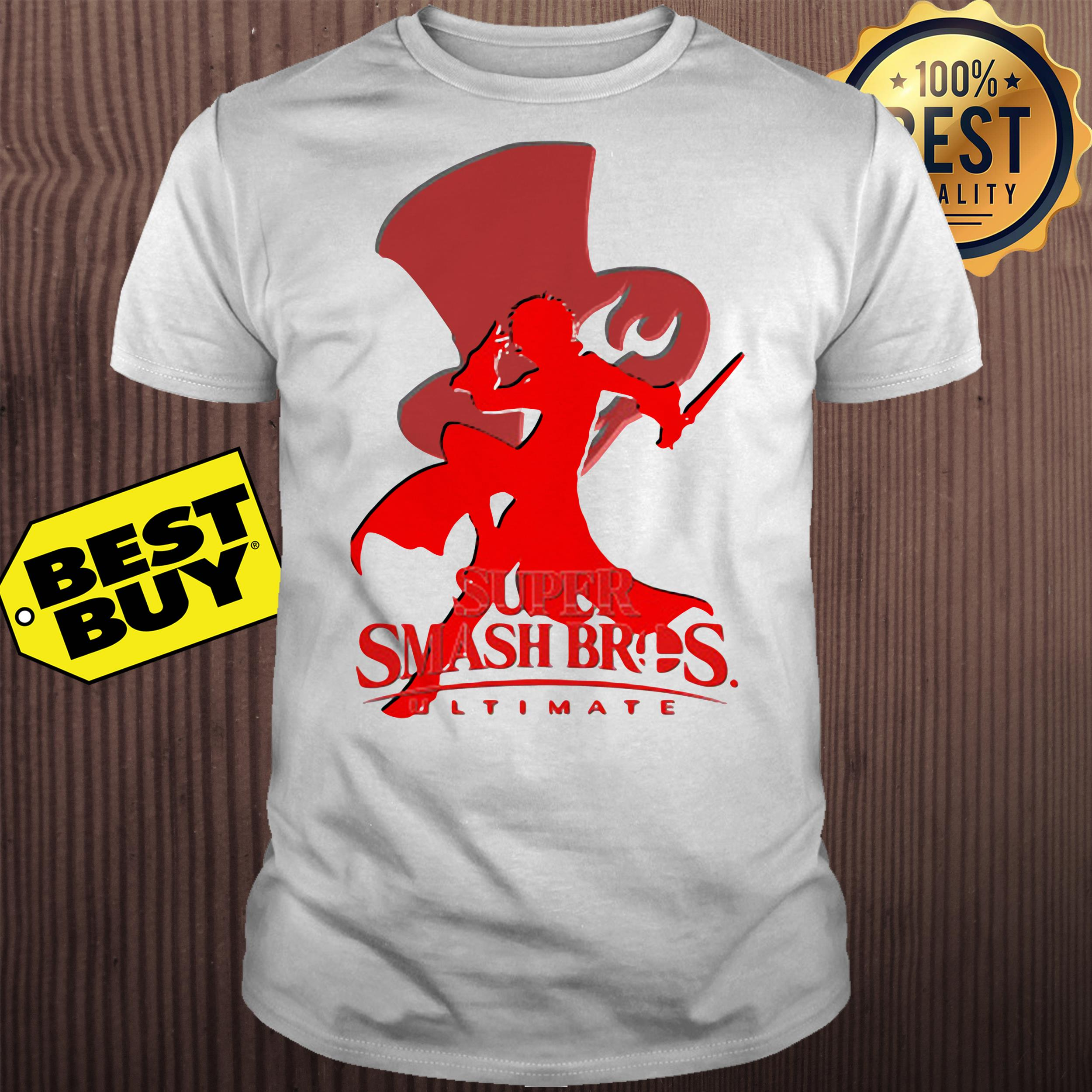 Joker Silhouette Crew Neck super smash bros ultimate shirt