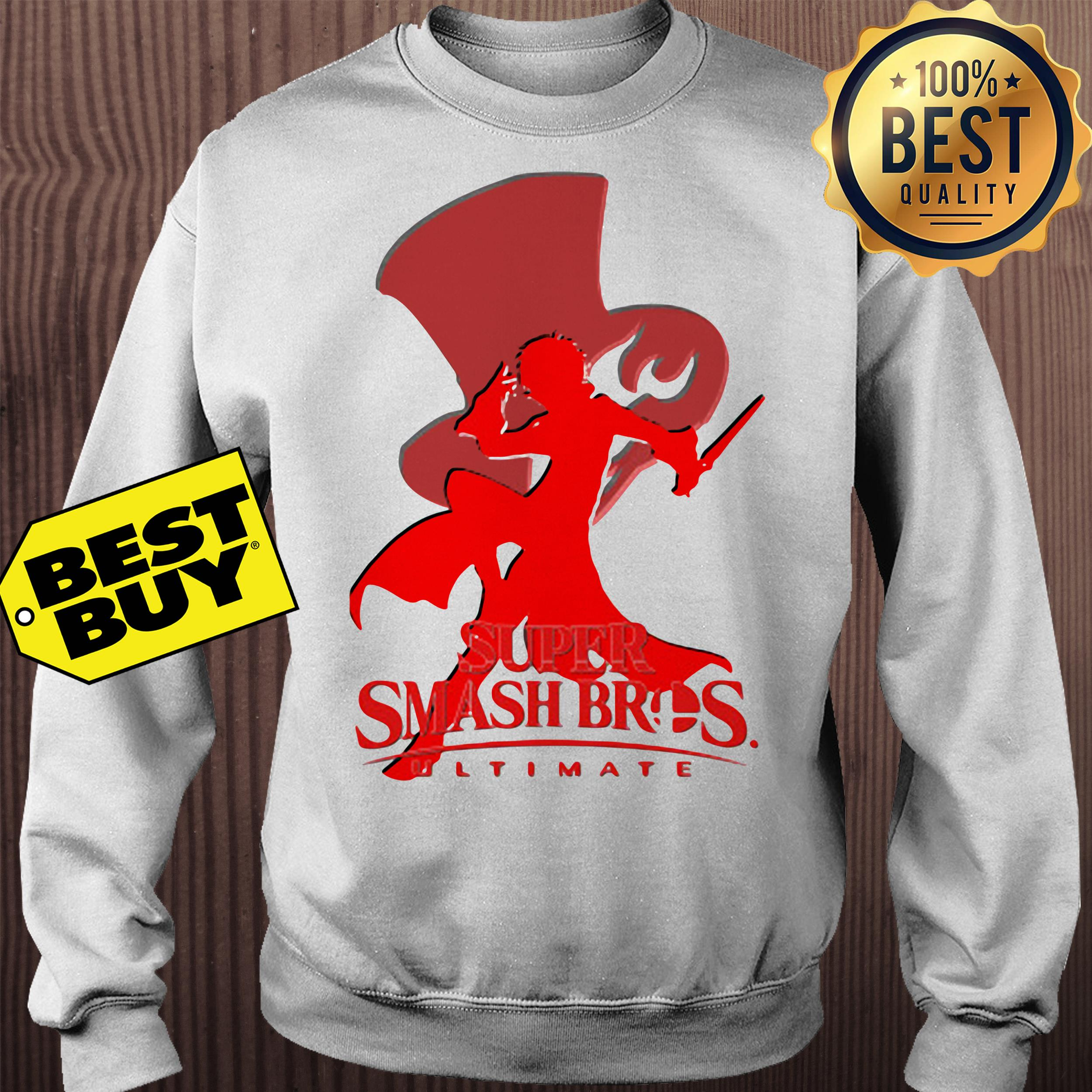 Joker Silhouette Crew Neck super smash bros ultimate sweatshirt