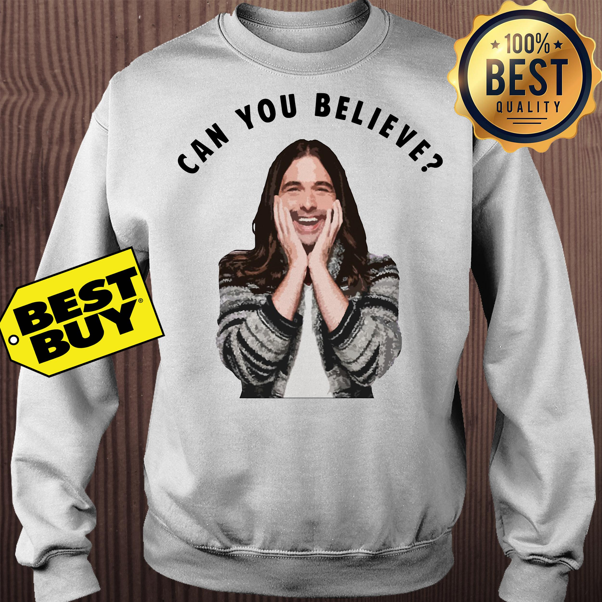Jonathan Van Ness Queer Eye Can You Believe sweatshirt