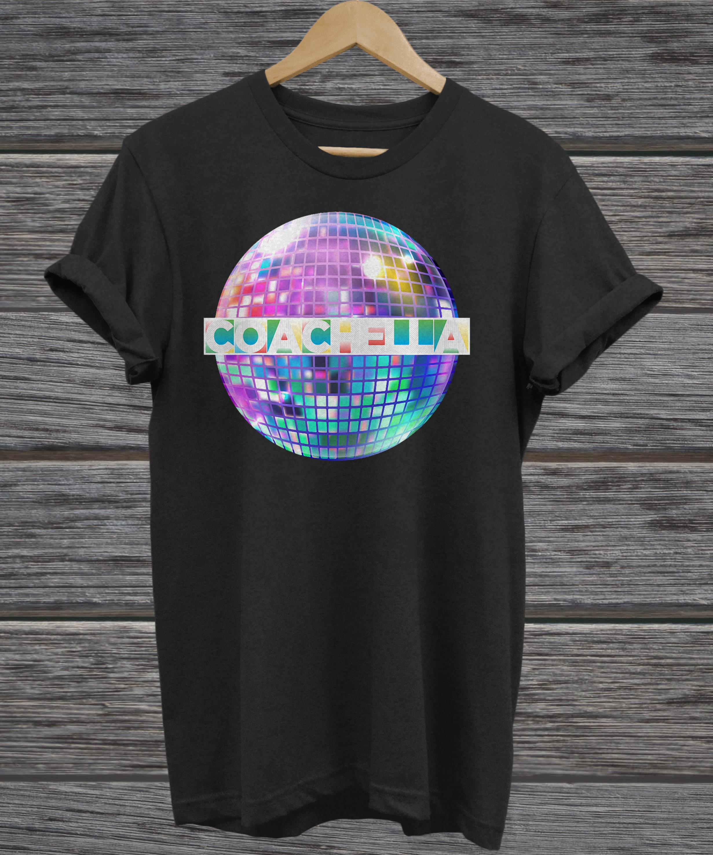 Light-up Blinking Coachella ladies tee