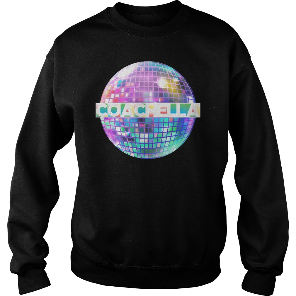 Light-up Blinking Coachella sweatshirt