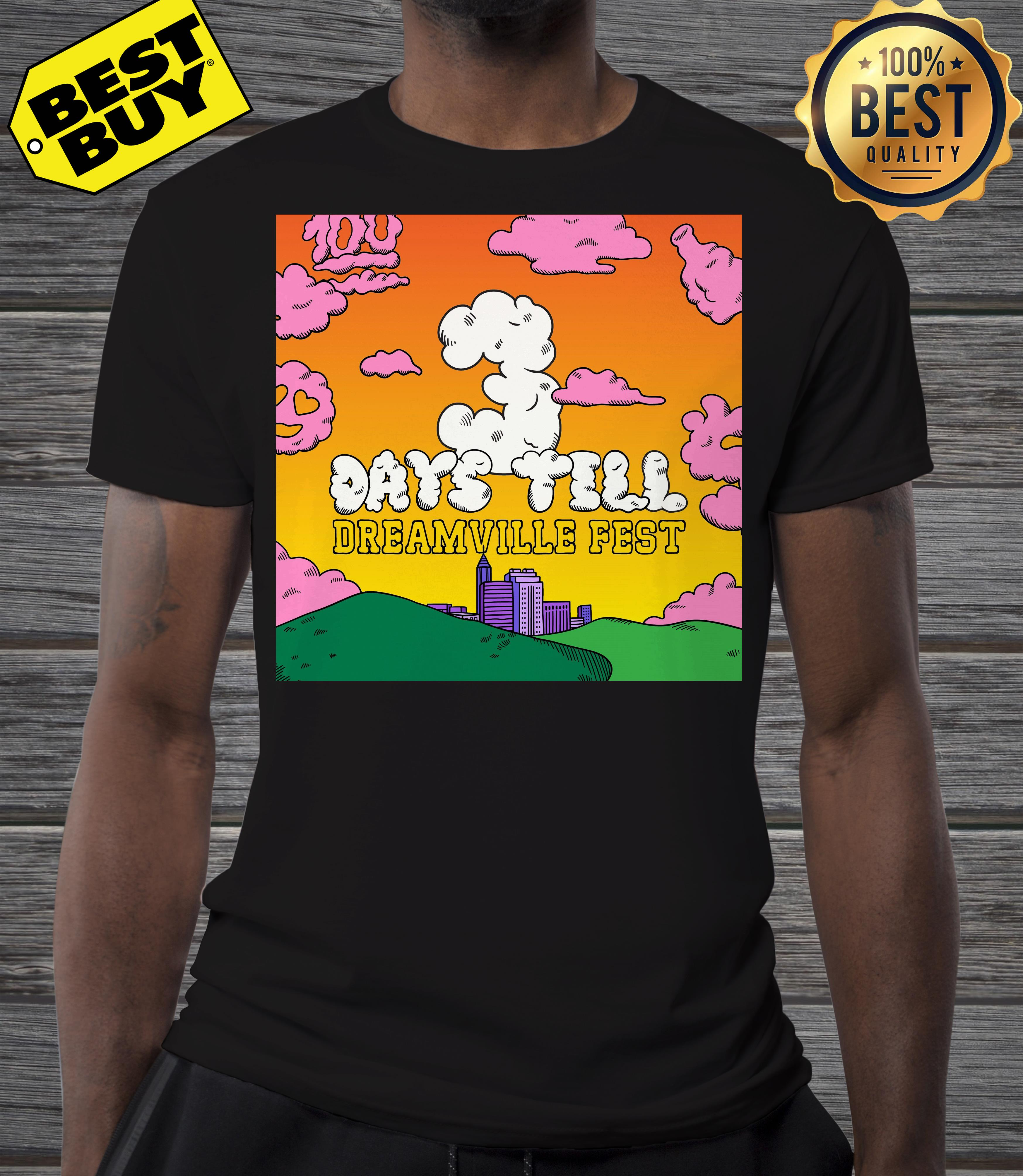 Live Nation acquires J. Cole's day still Dreamville Music Festival shirt