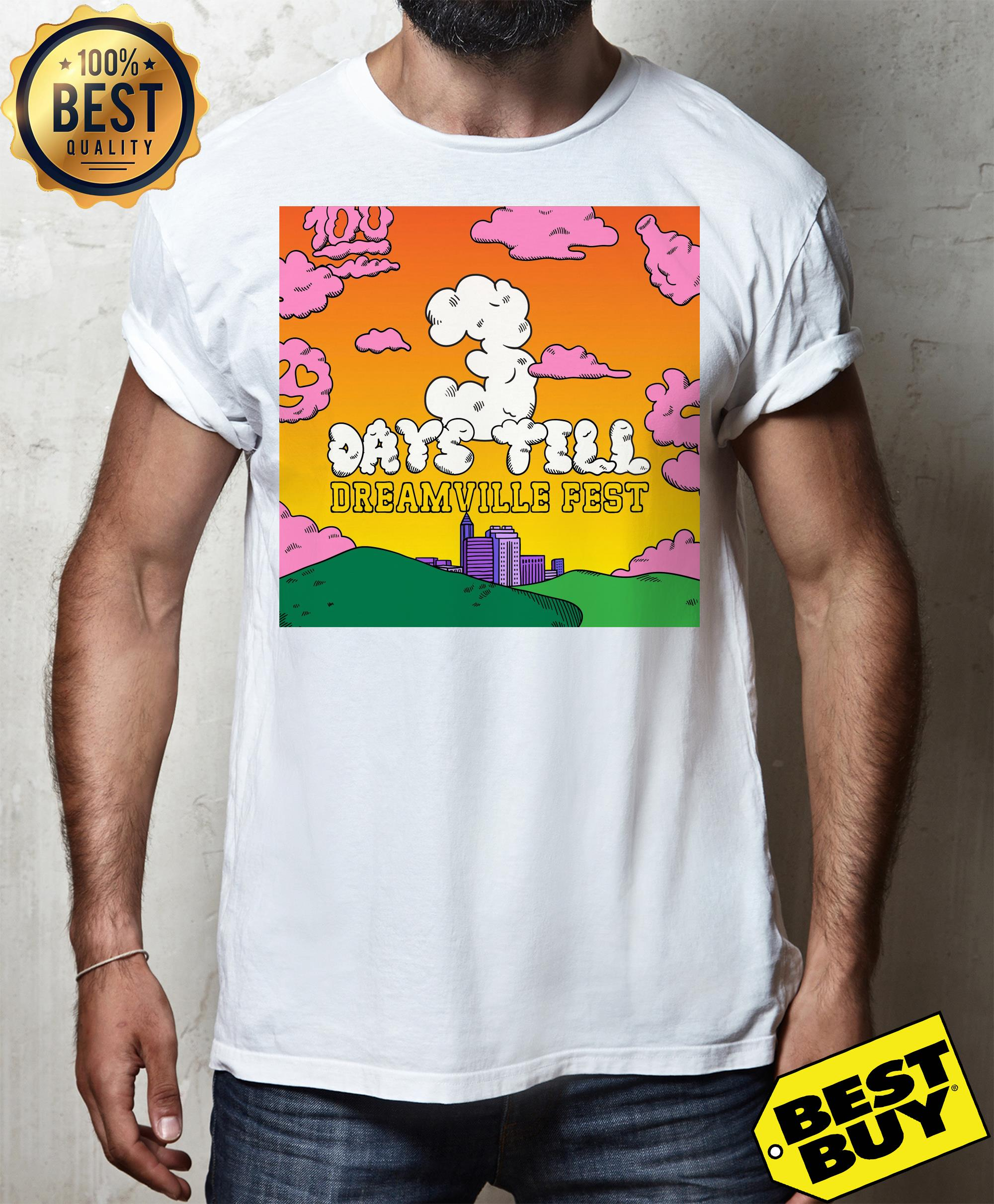 Live Nation acquires J. Cole's day still Dreamville Music Festival v-neck