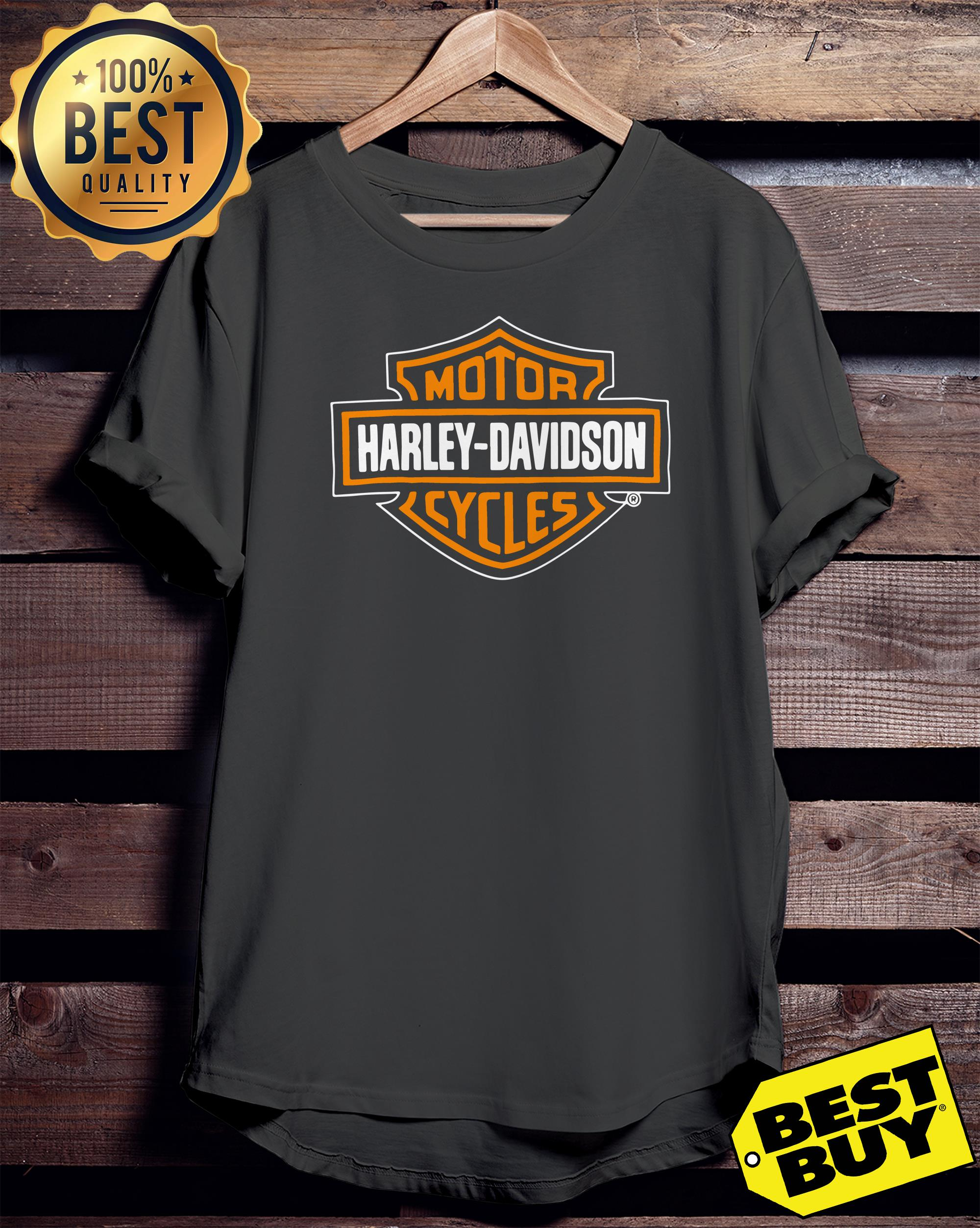 Motor Harley Davidson cycles ladies tee
