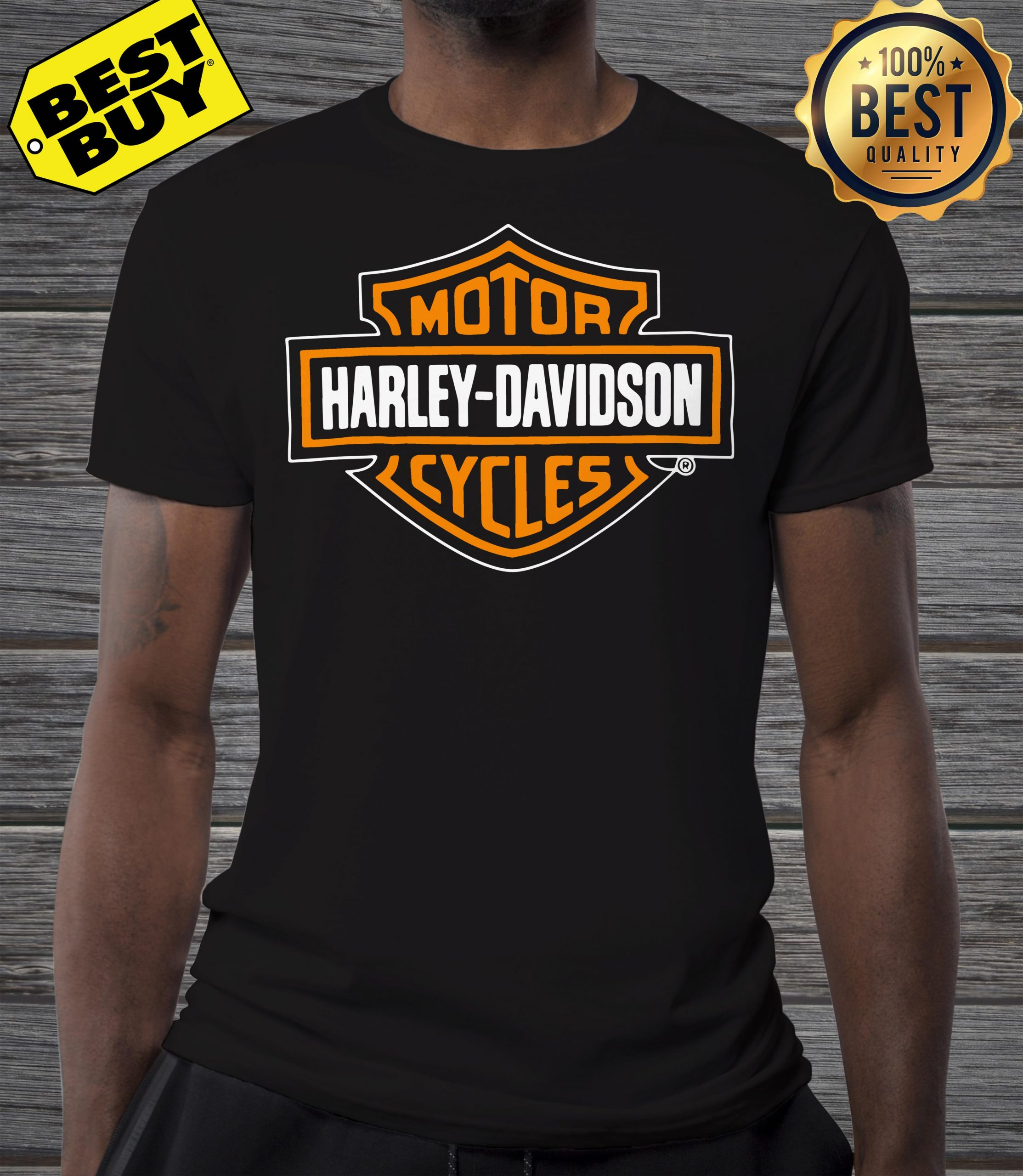 Motor Harley Davidson cycles v-neck