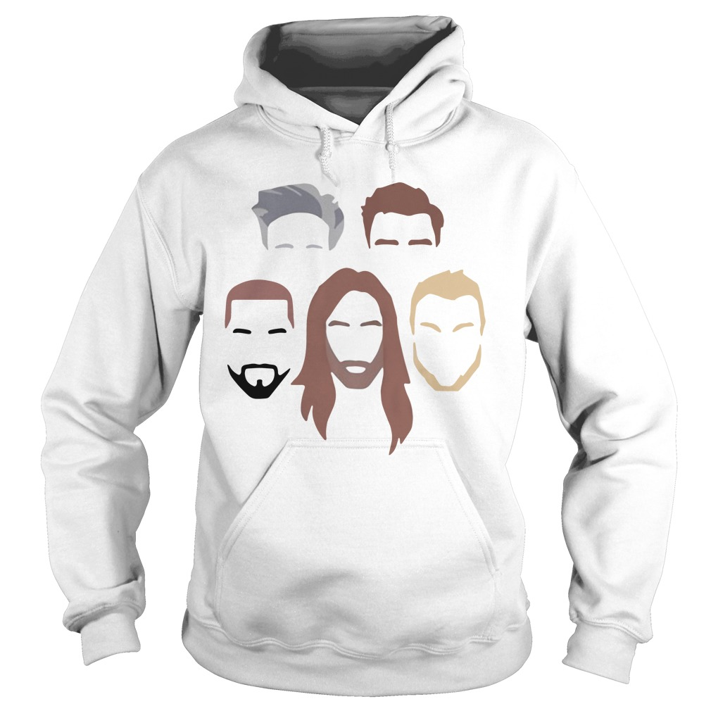 Netflix original Queer Eye Faces Silhouettes more than a makeover hoodie