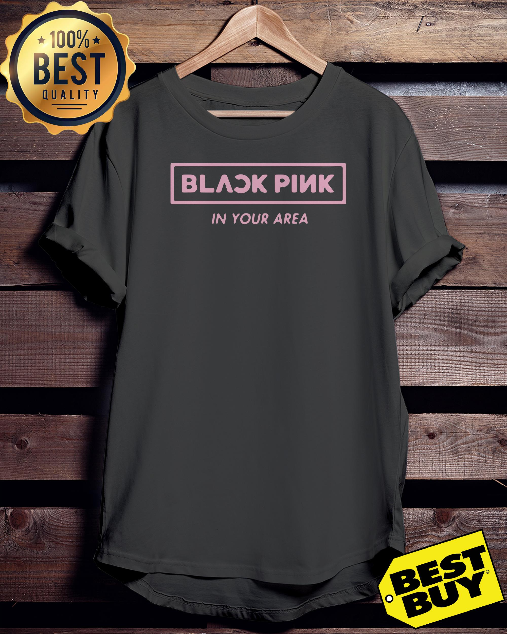 Official Blackpink in your area ladies tee