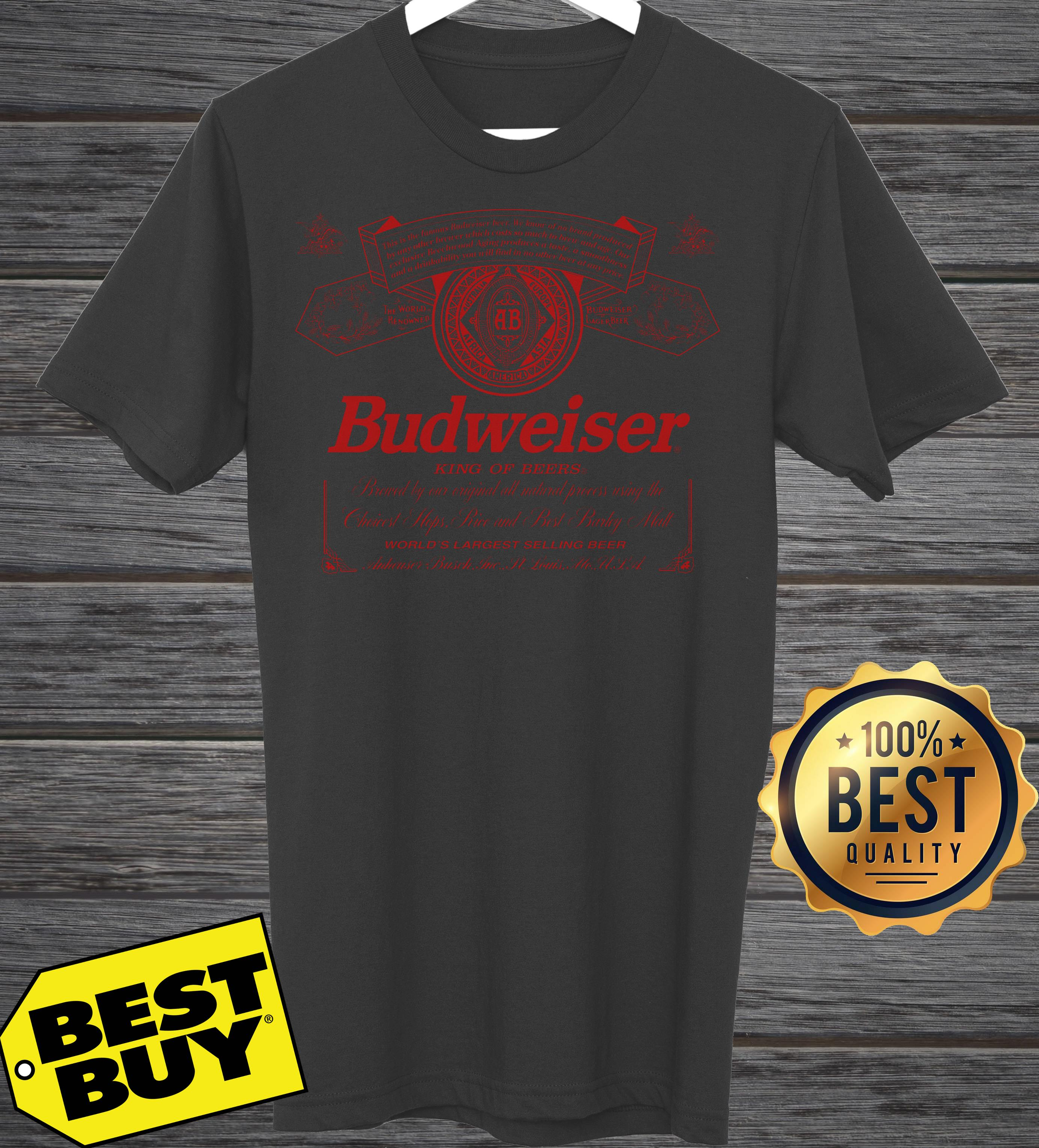 Official Budweiser King of beer unisex