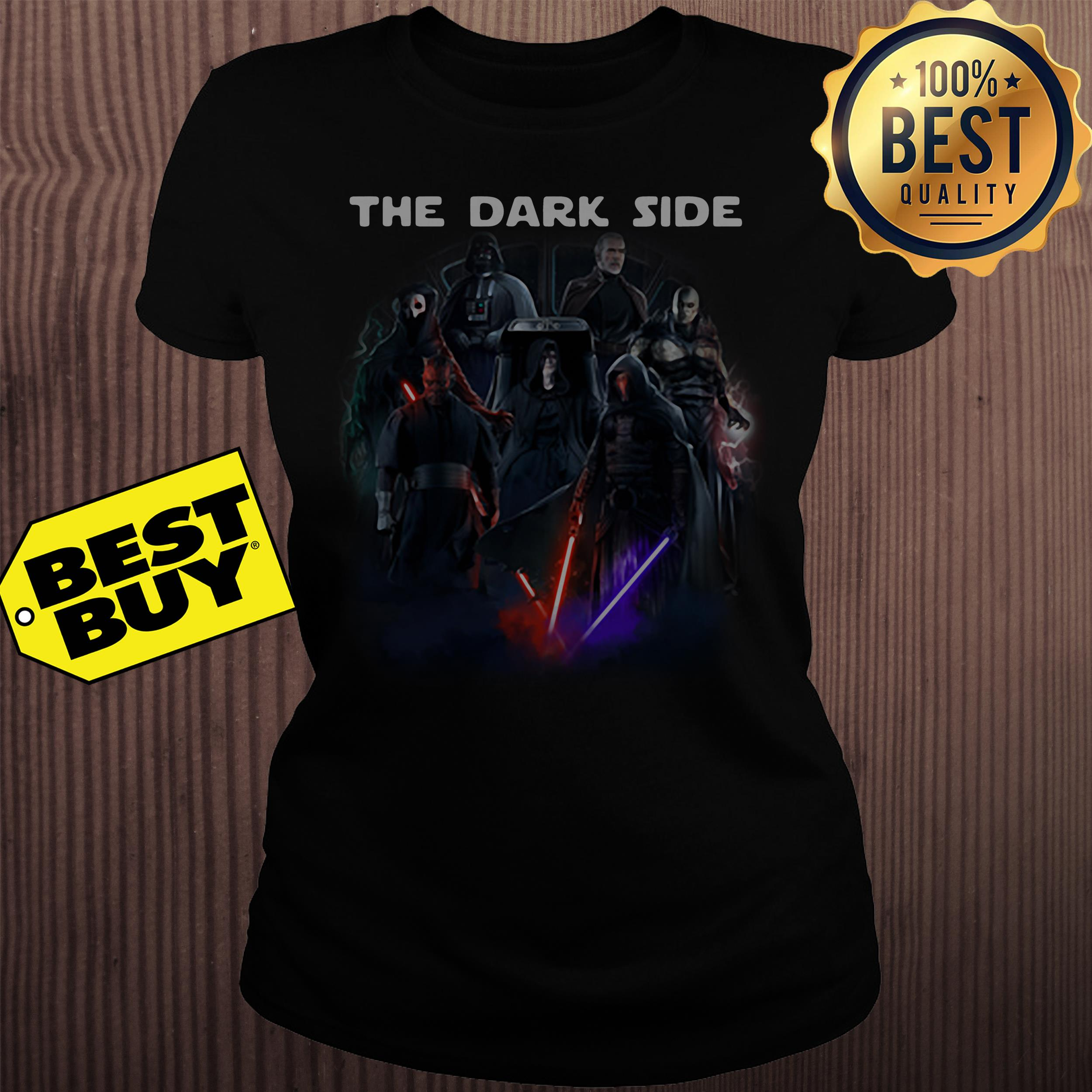 Official The Dark side ladies tee