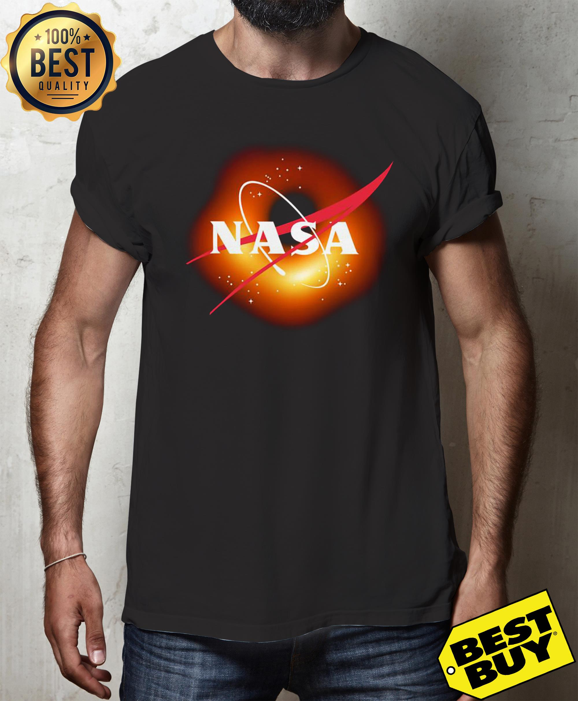 Official Death Star Nasa v-neck