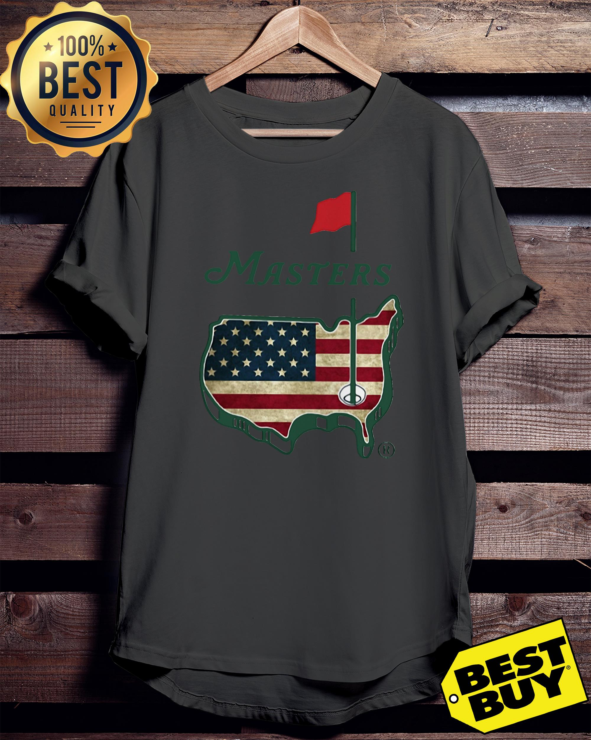 Official Masters American flag tank top