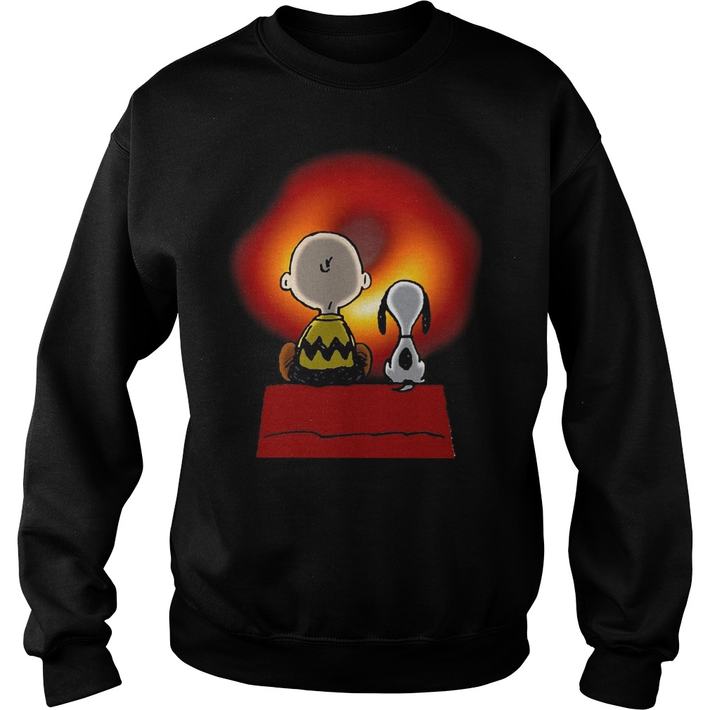 Official Nasa SpaceX Snoopy Charlie Brown La Vie sweatshirt
