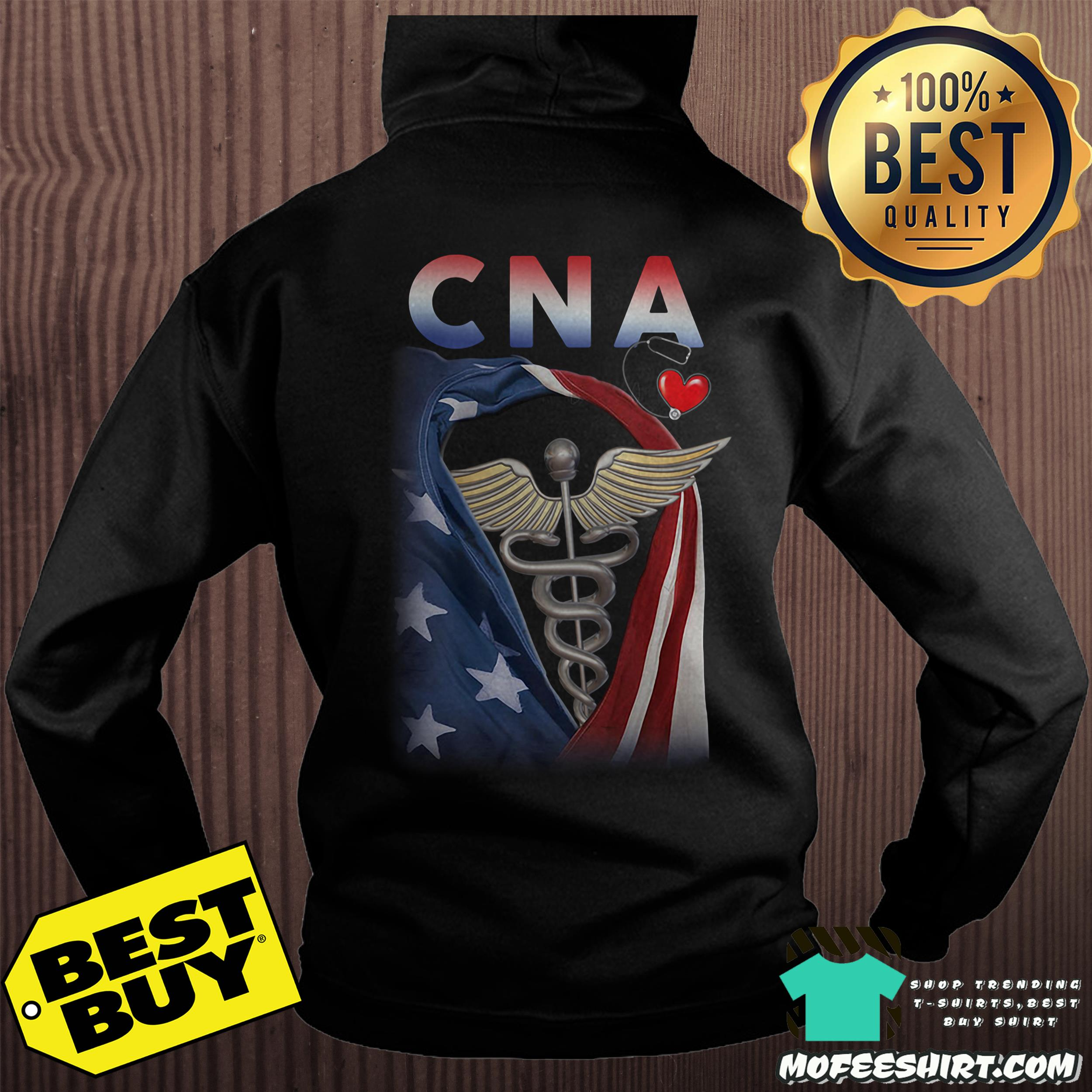 Official Patriotic CNA heartbeat hoodie