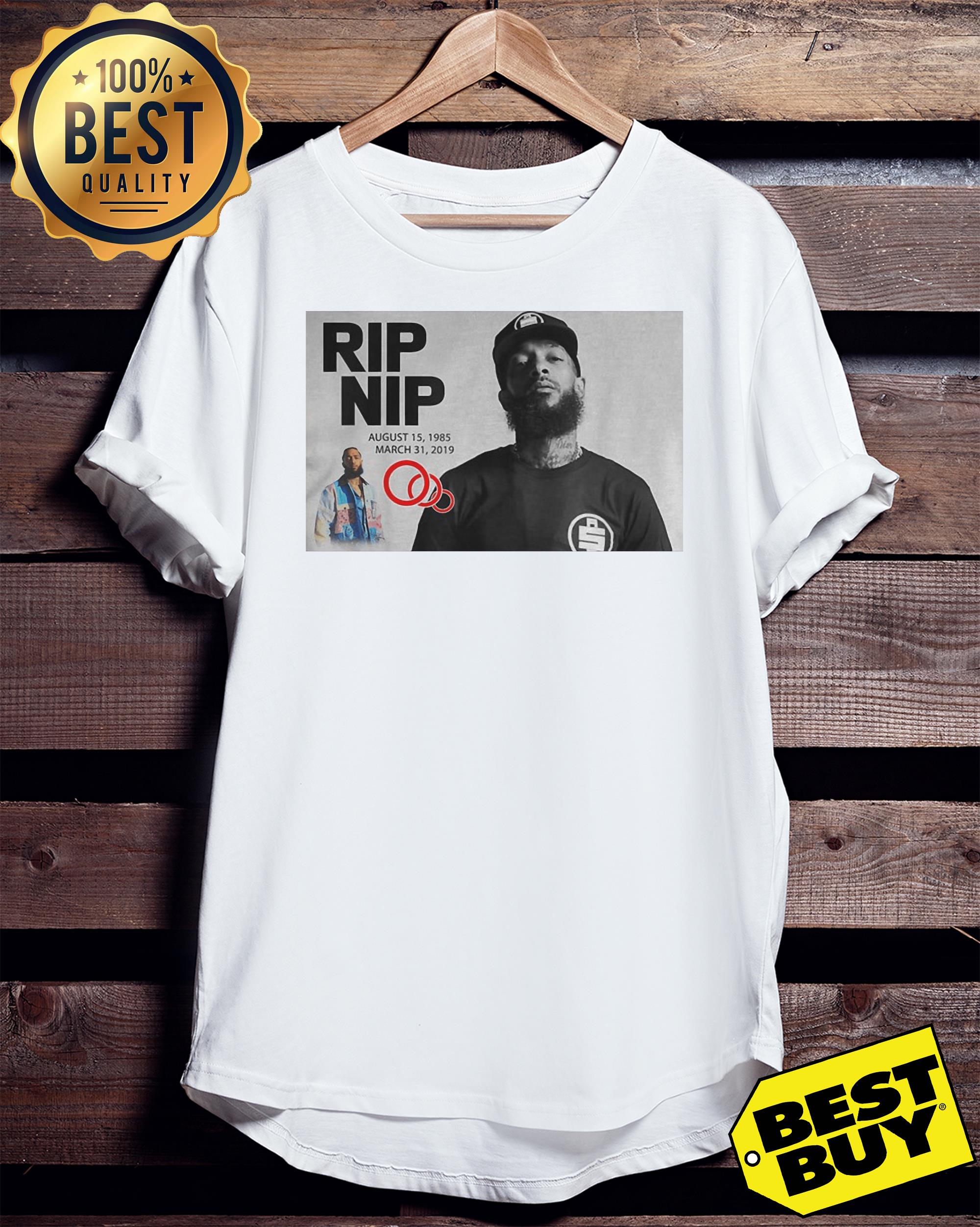Official Rip Nipsey Hussle Crenshaw August 1985- March 2019 shirt