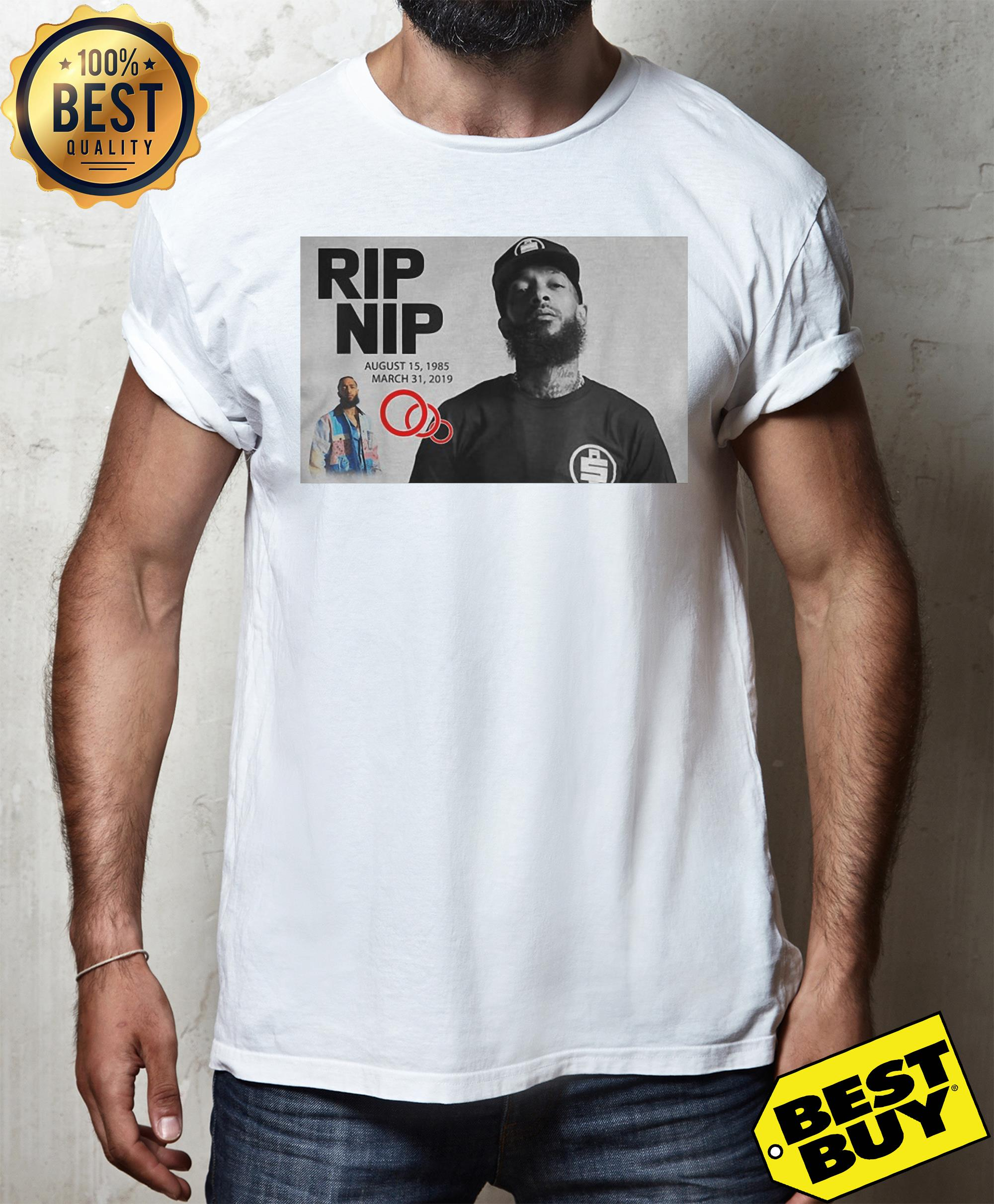 Official Rip Nipsey Hussle Crenshaw unisex
