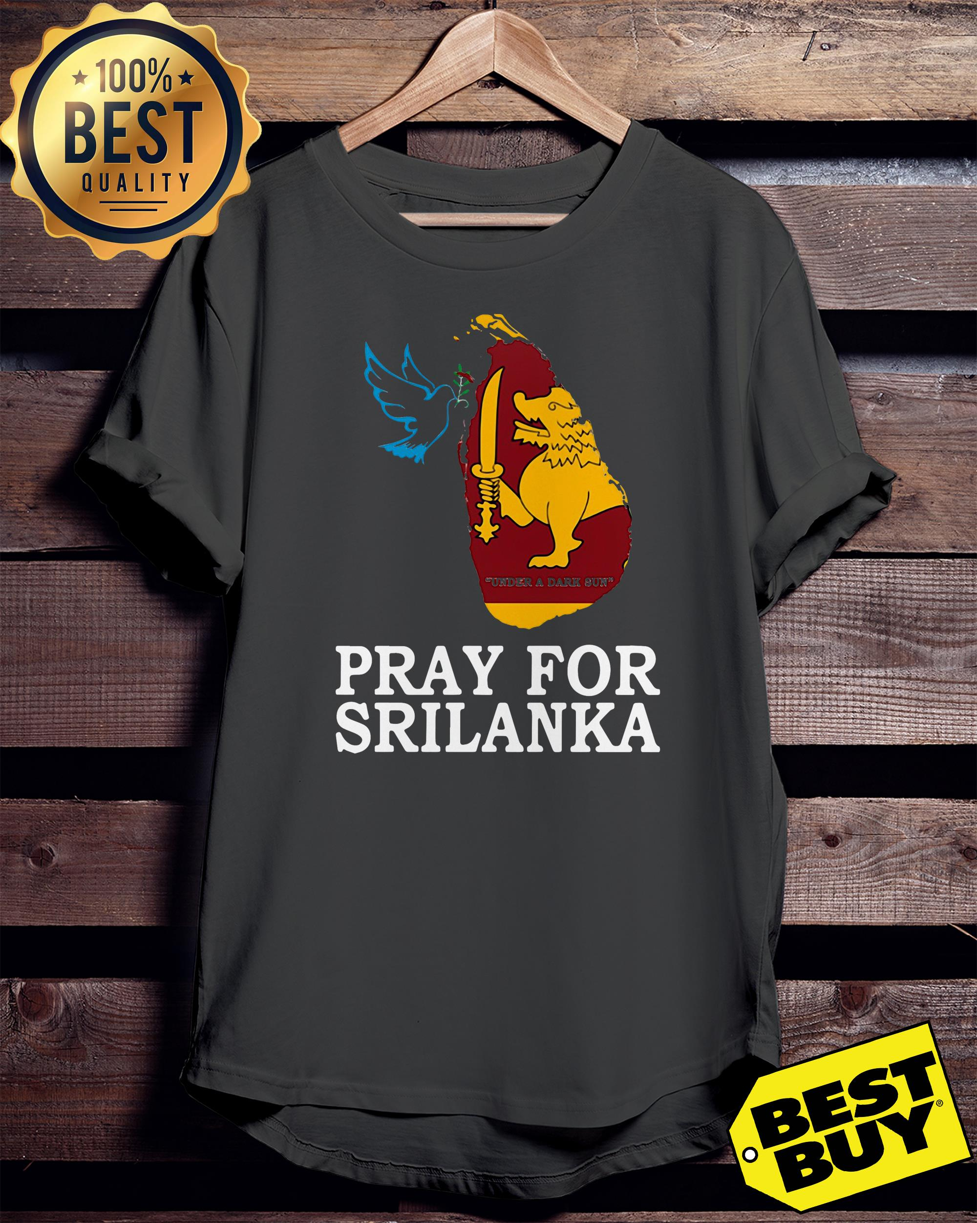 Pray for Sri Lanka ladies tee