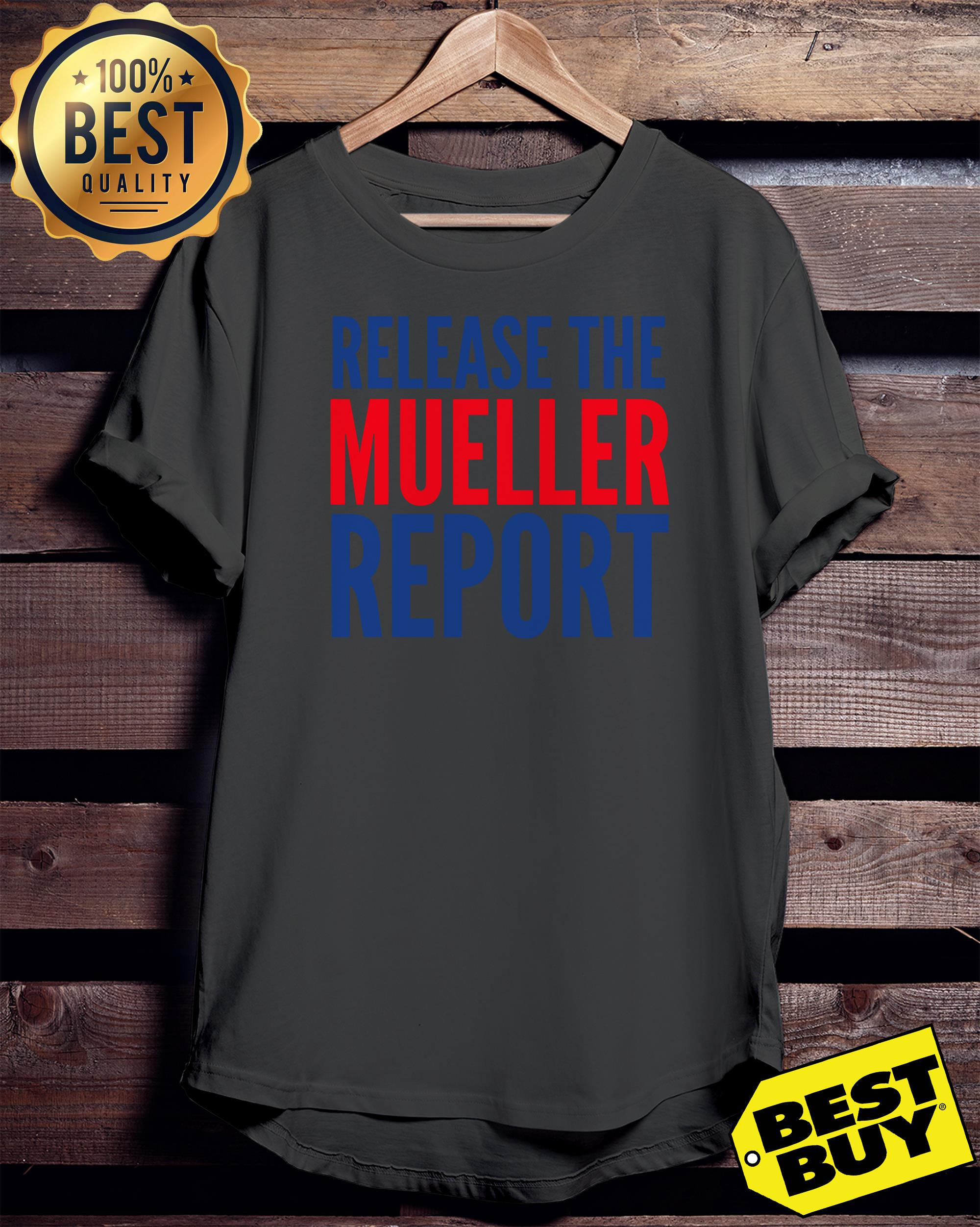 Release The Mueller Report Protest Rally ladies tee