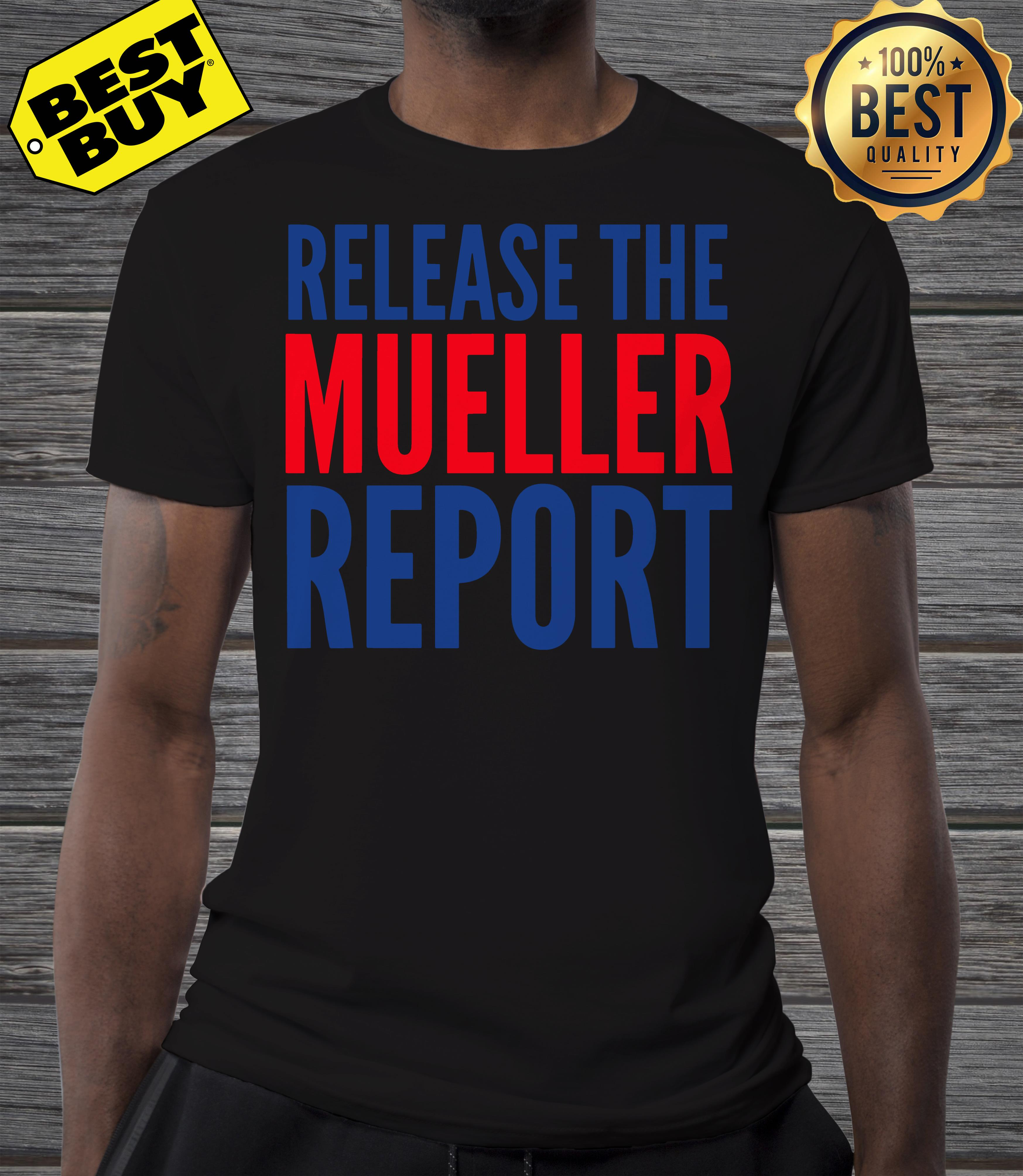 Release The Mueller Report Protest Rally v-neck