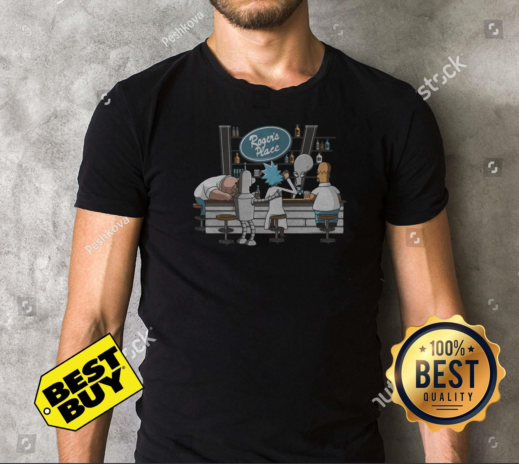 Rick Morty roger place shirt