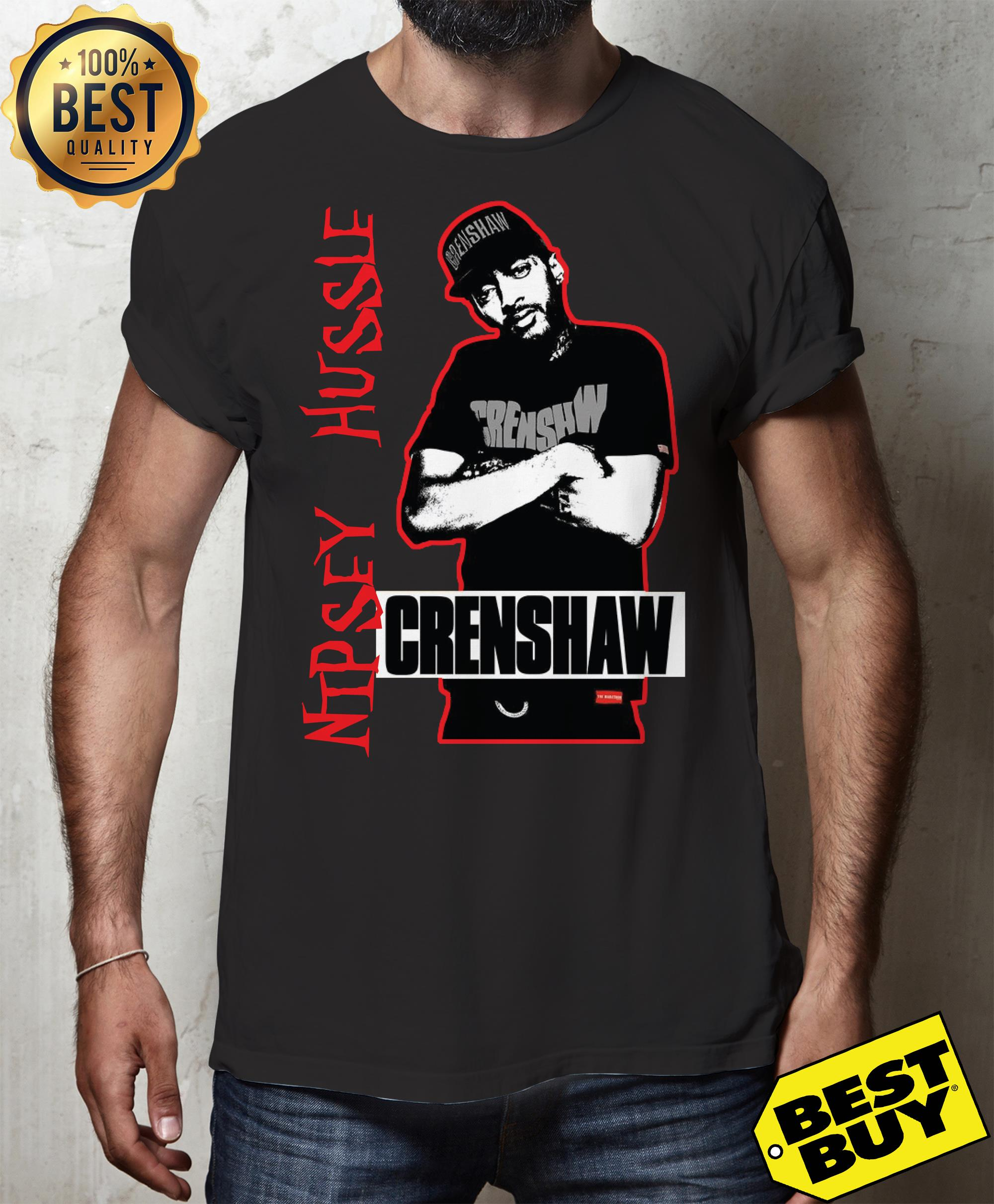 RIP Tribute to Nipsey Hussle Crenshaw Shirt