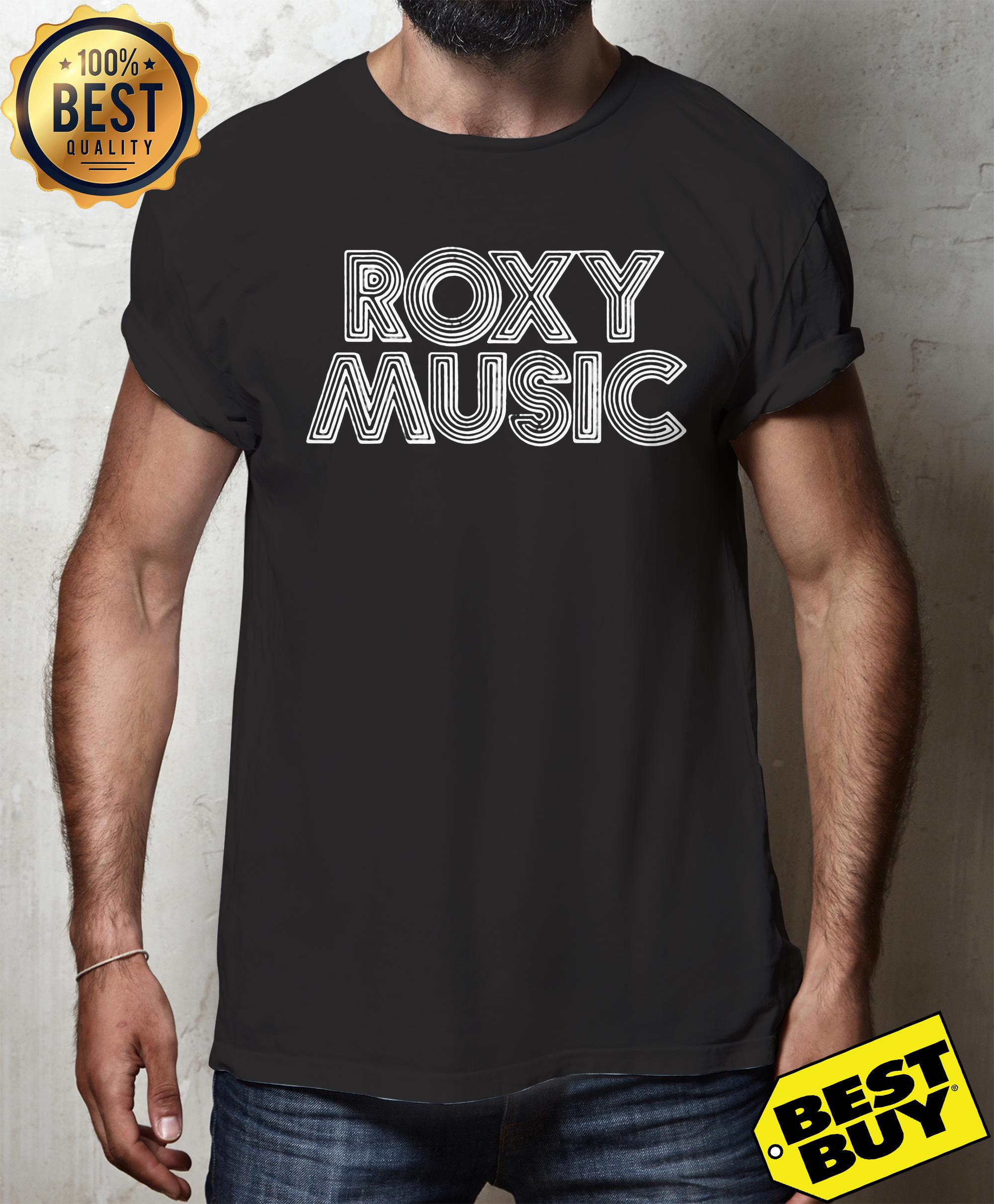 Roxy Music 'Retro Logo' Shirt