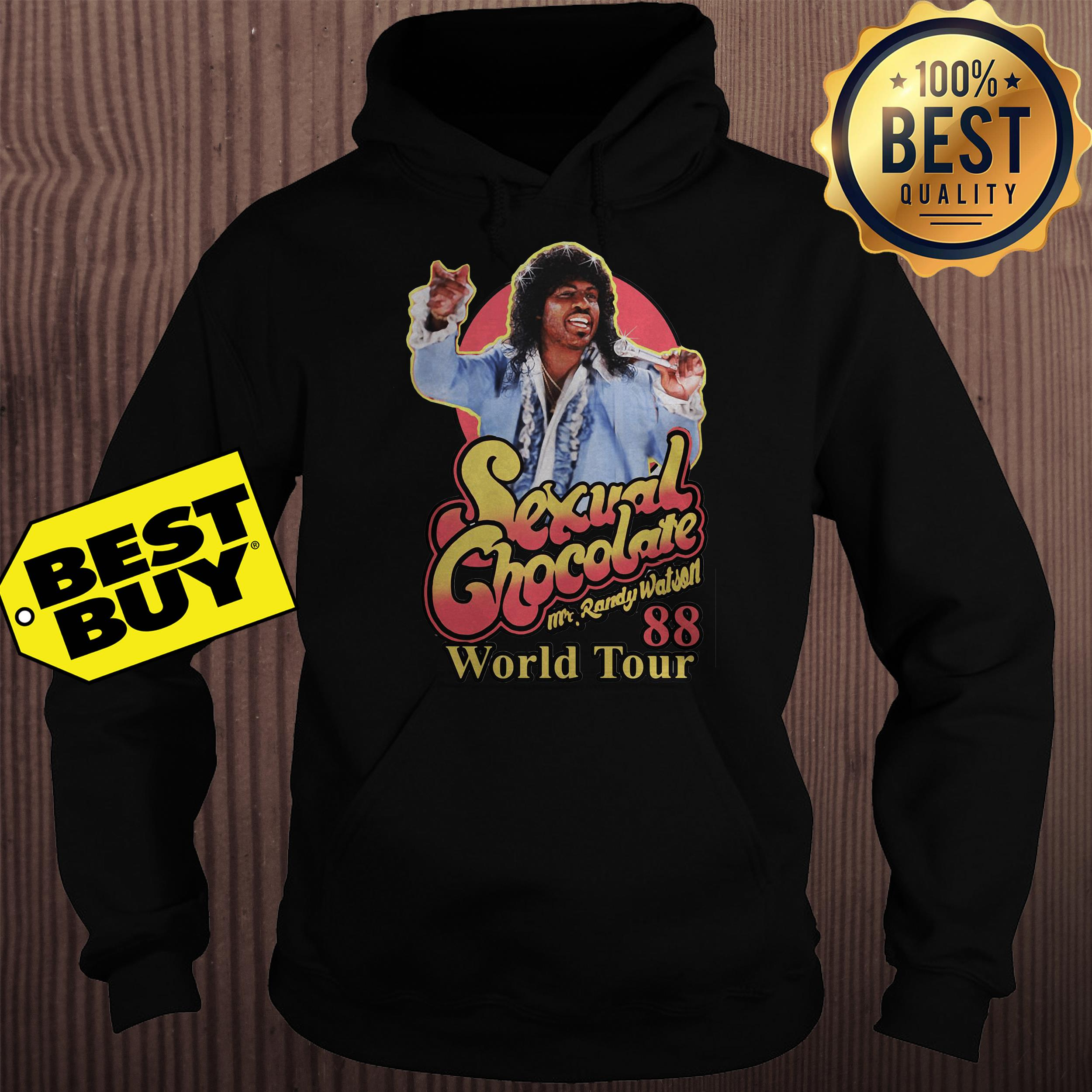 Sexual chocolate Mr.Randy Watson 88 world tour hoodie