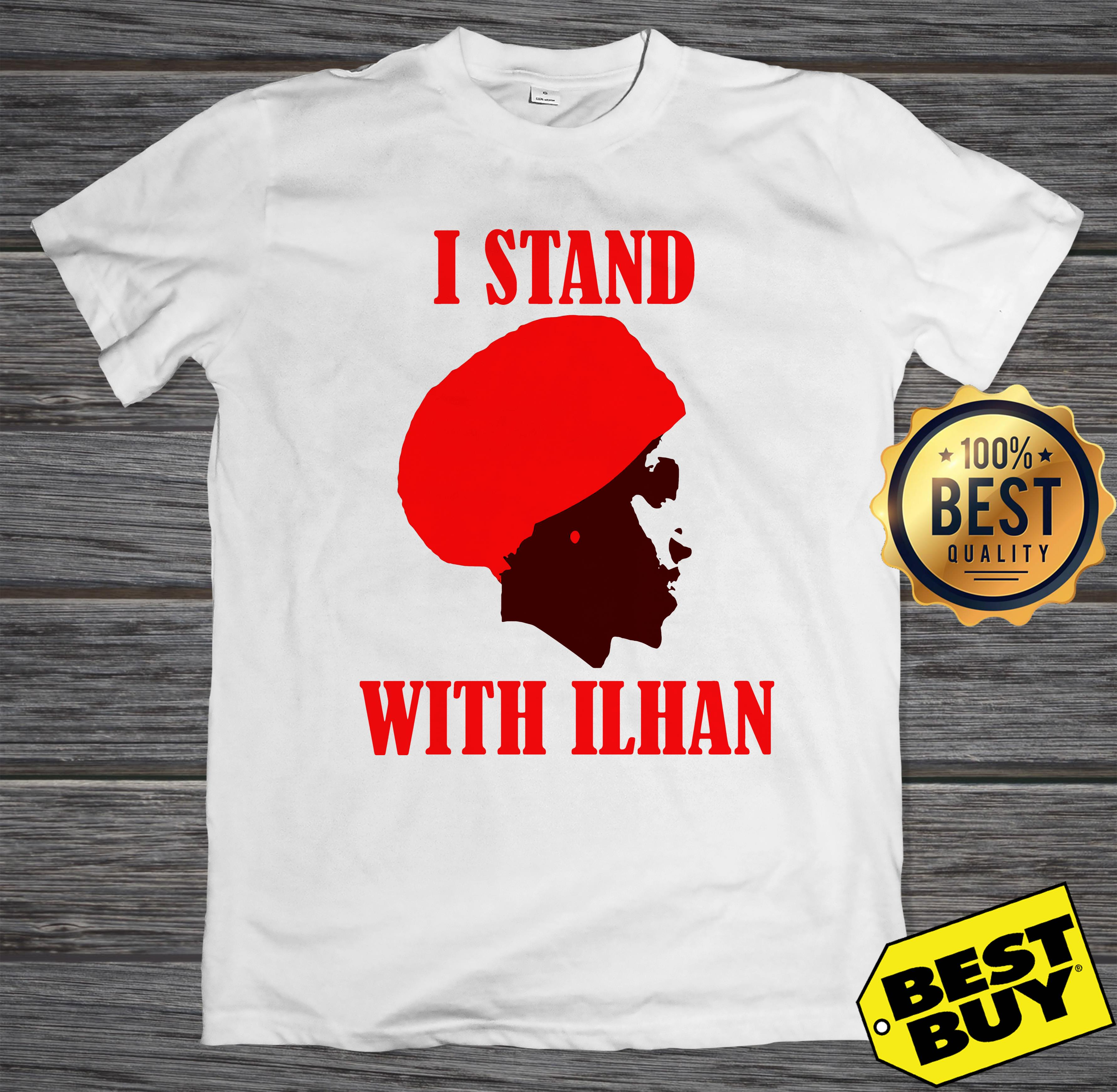 I Stand With Congresswoman Ilhan Omar tank top