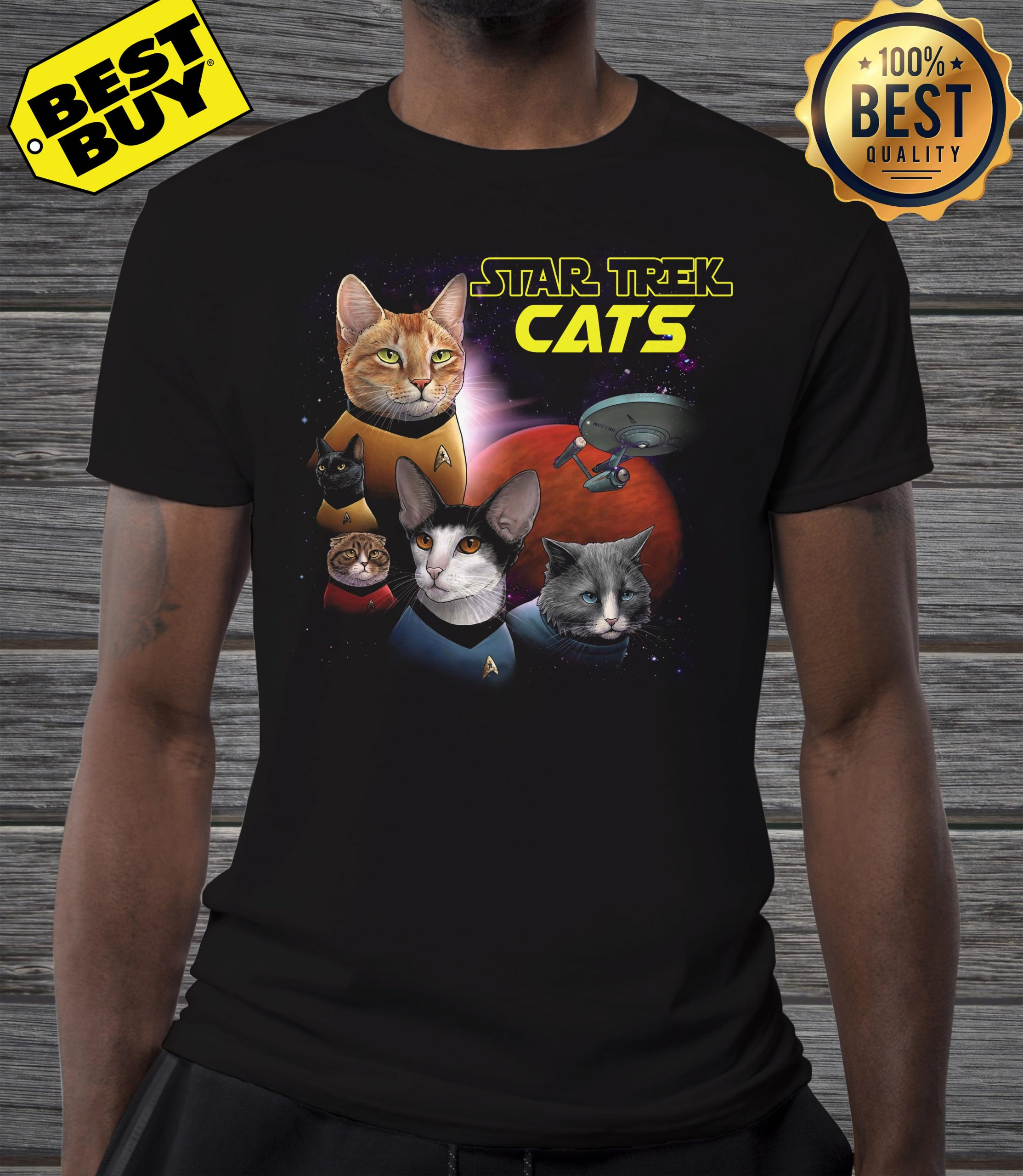 Star Trek Cats Books And Merch shirt