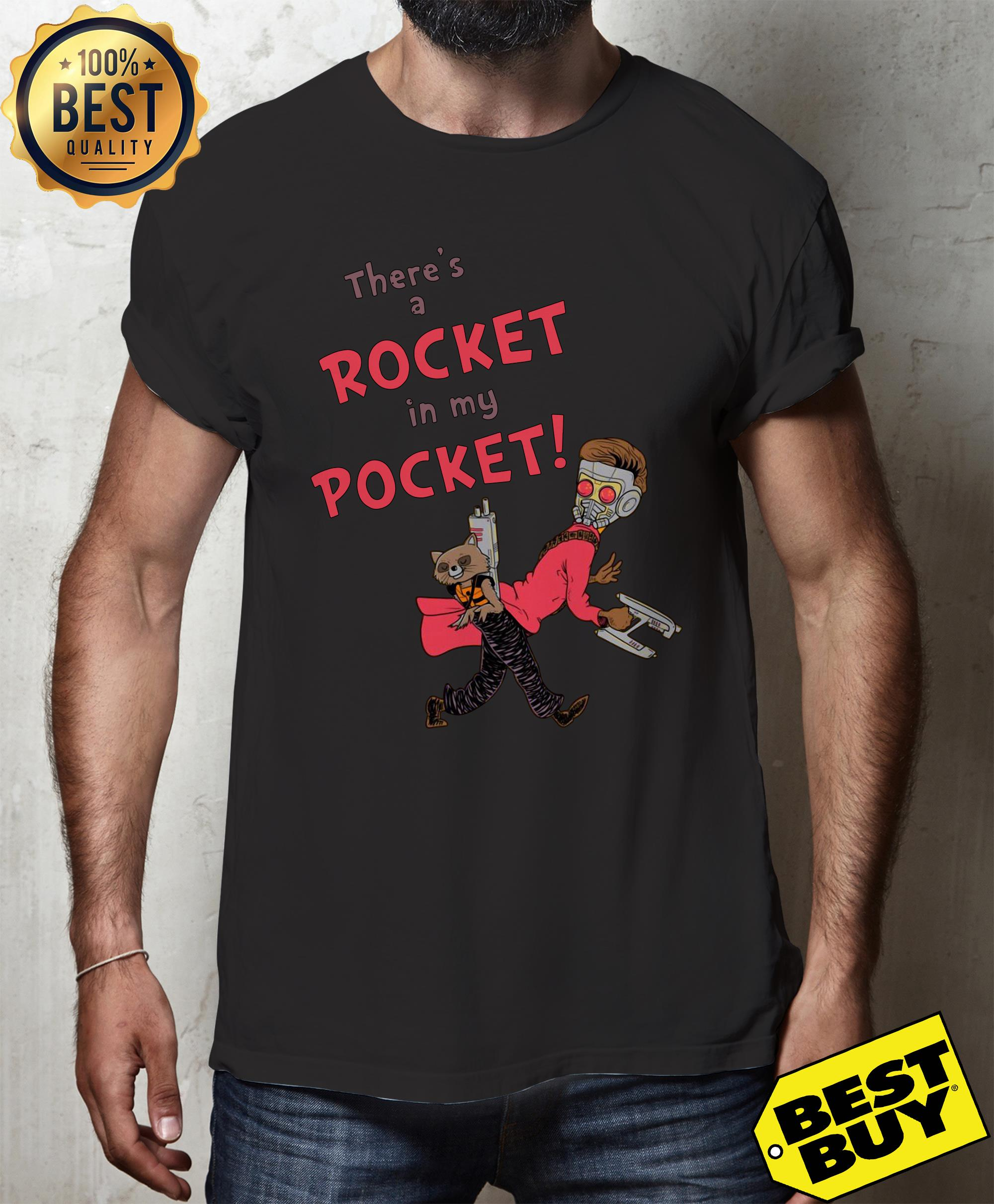 There's a Rocket in my pocket shirt